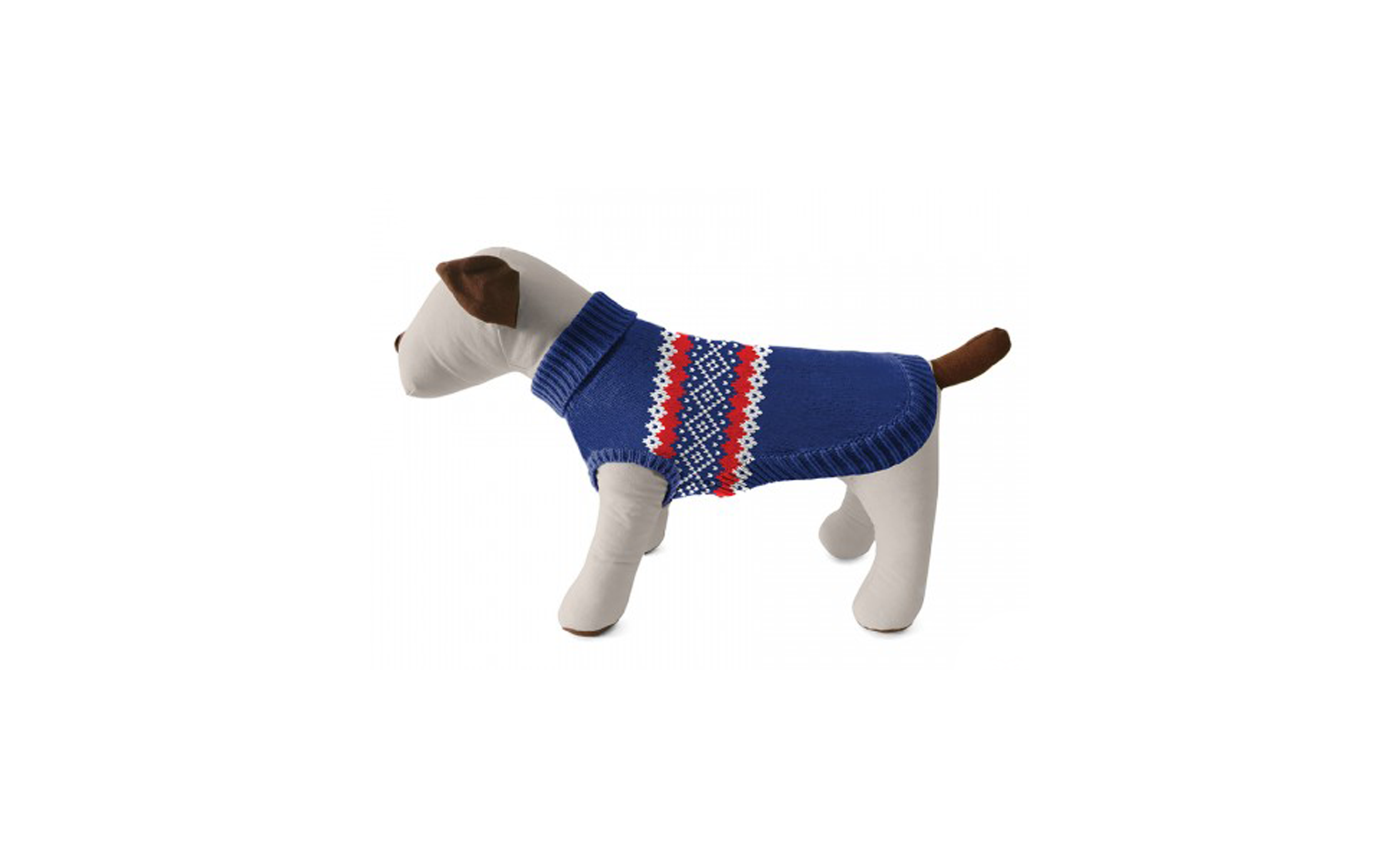 Harry Barker Fair Isle Dog Sweater