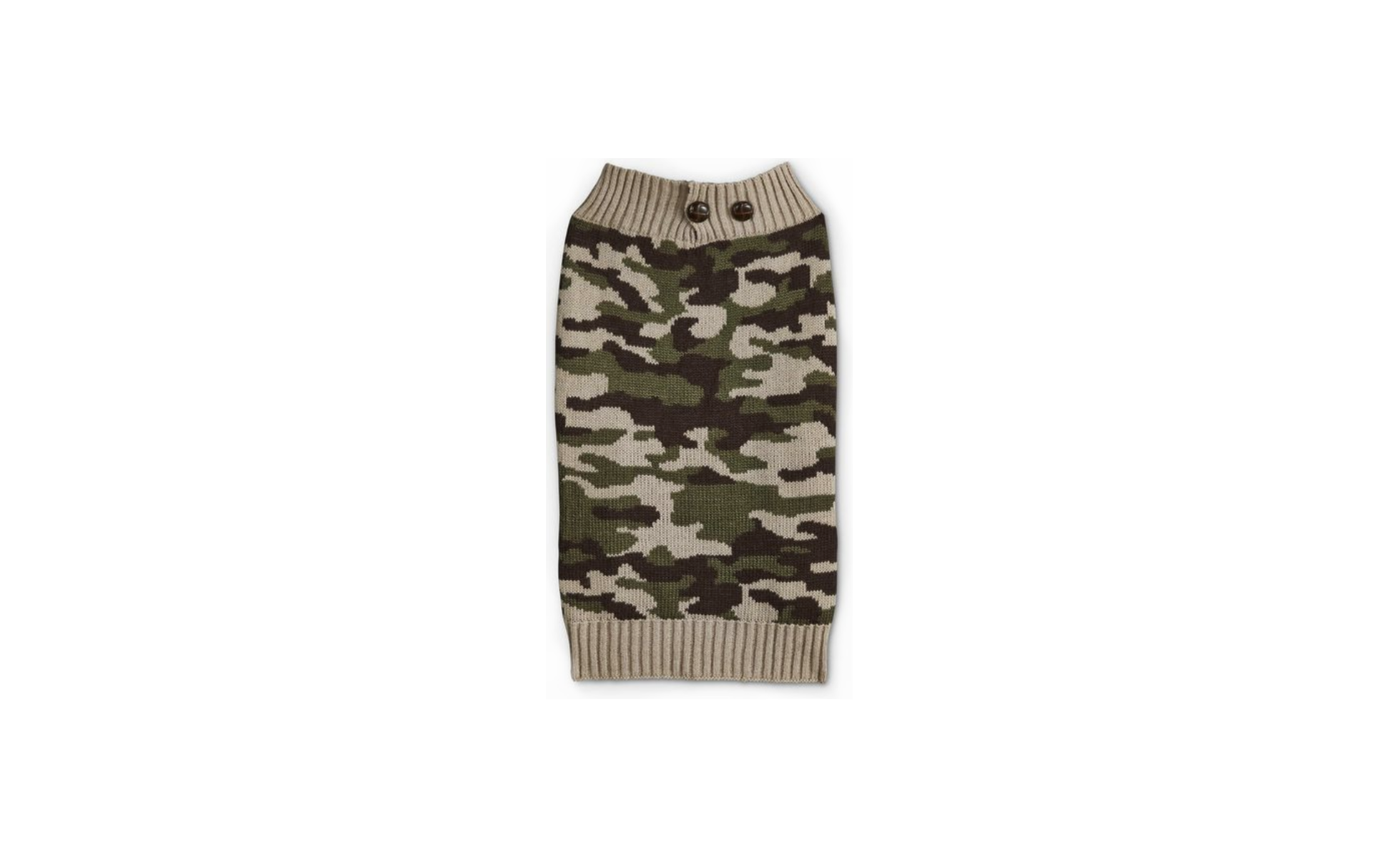 Bond & Co. Camo Dog Sweater