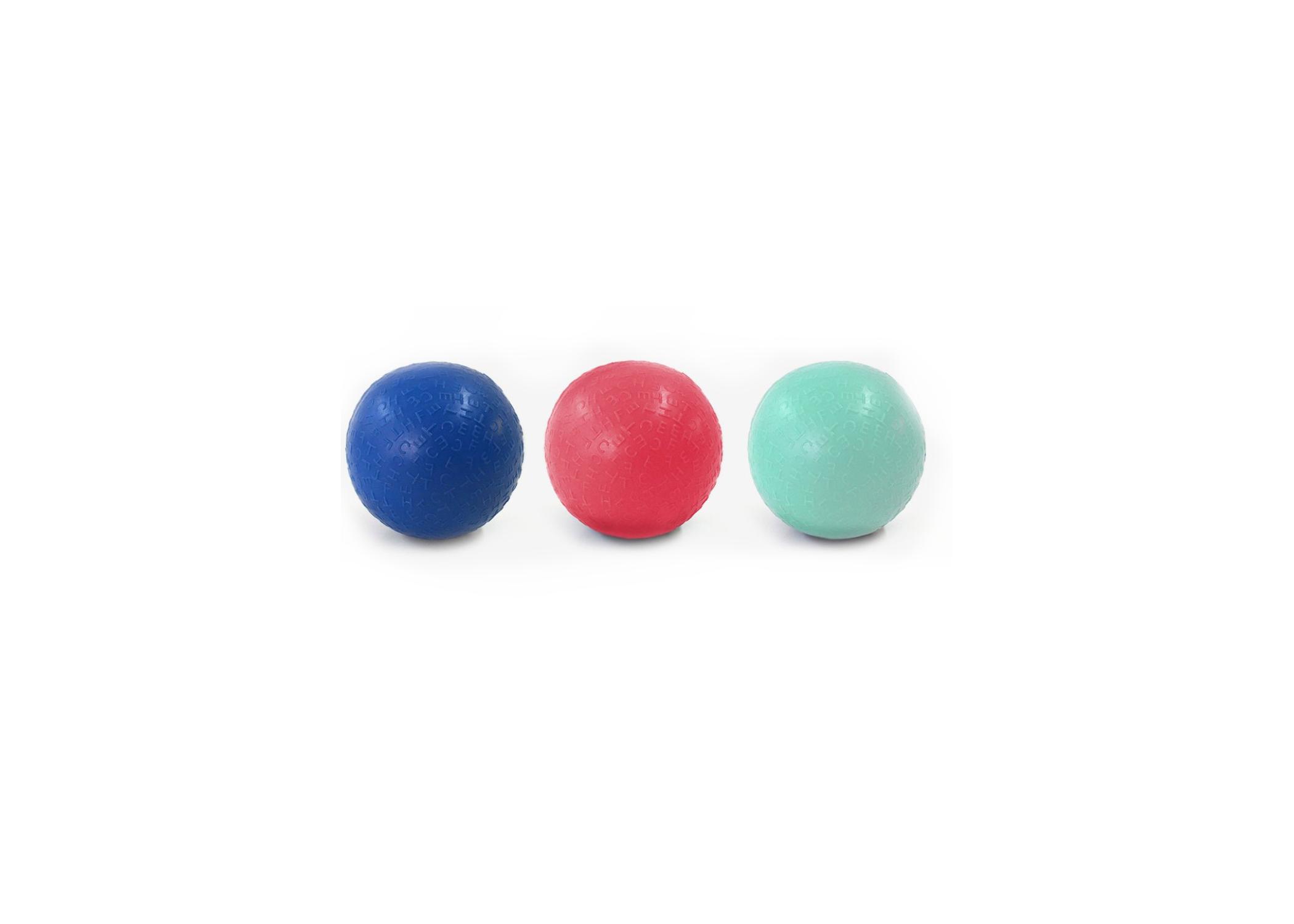 Jumbled Squeaker Ball Dog Toy