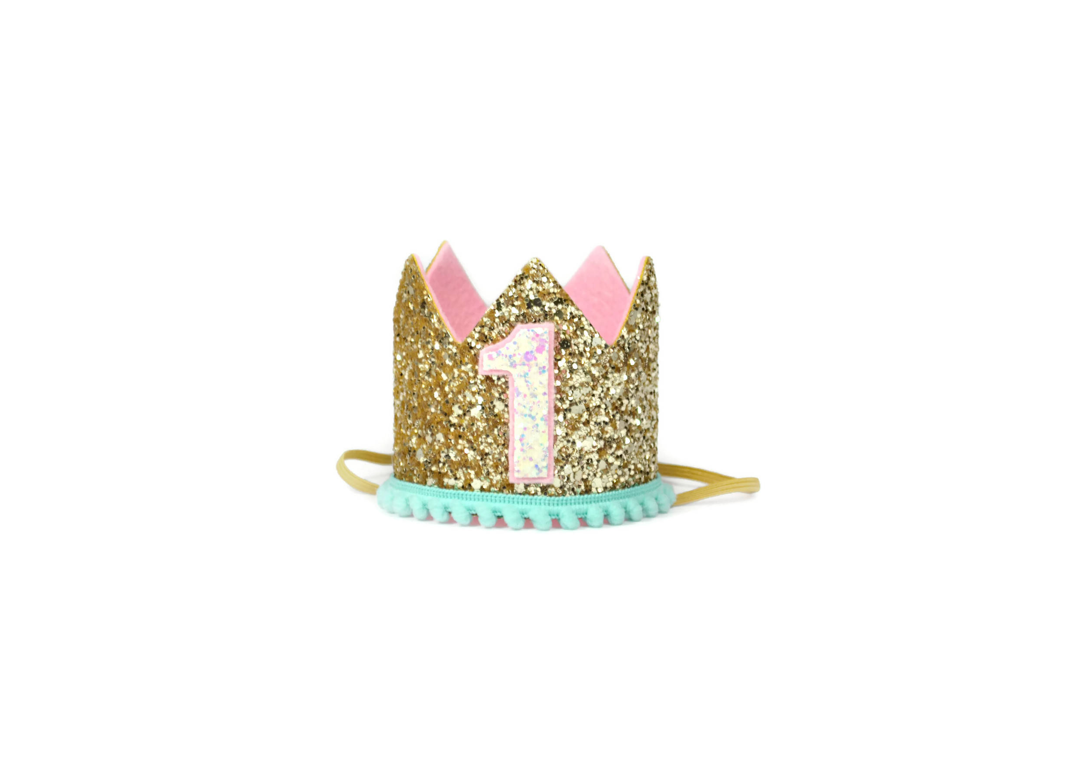 Glitter Crown Party Hat