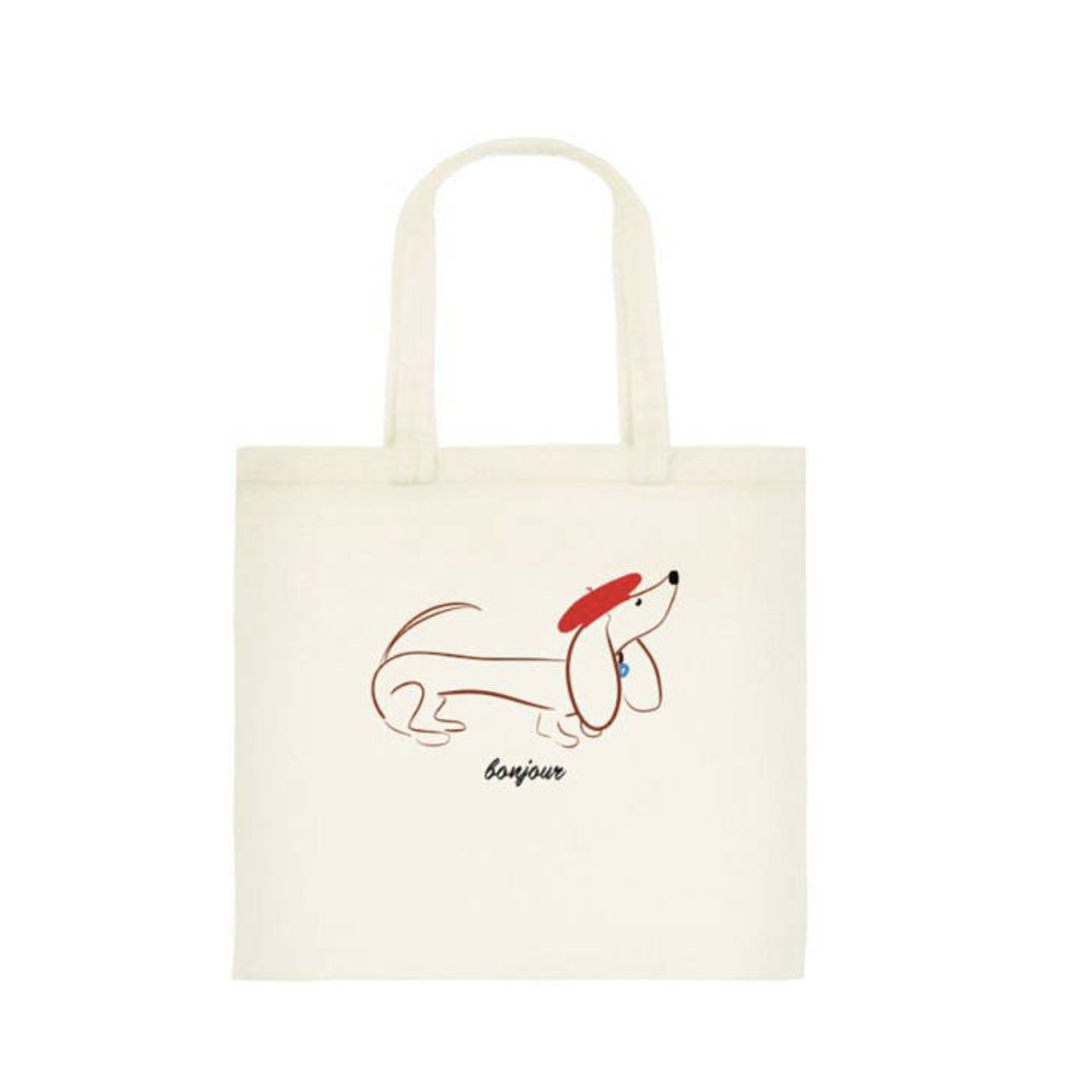 Gilmore the Dachshund© tote bag
