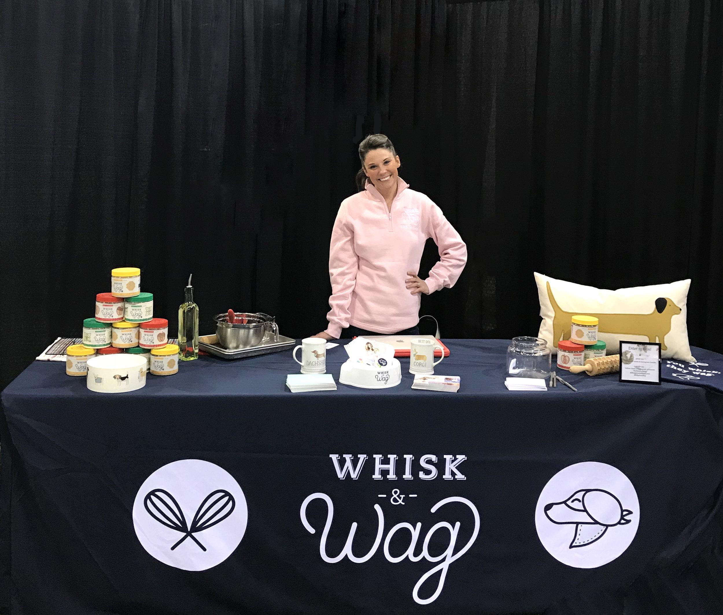 Whisk & Wag at BlogPaws 2018