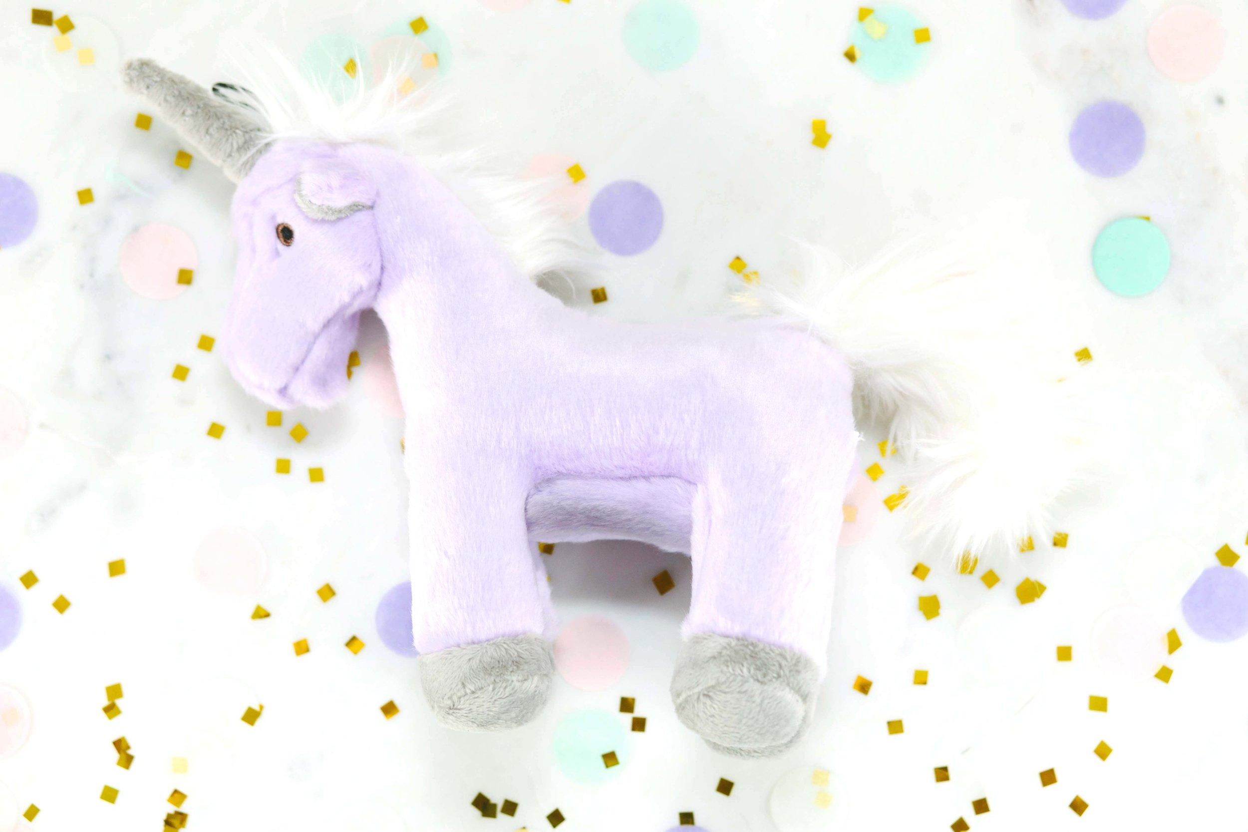 Dave's new Fluff & Tuff unicorn toy