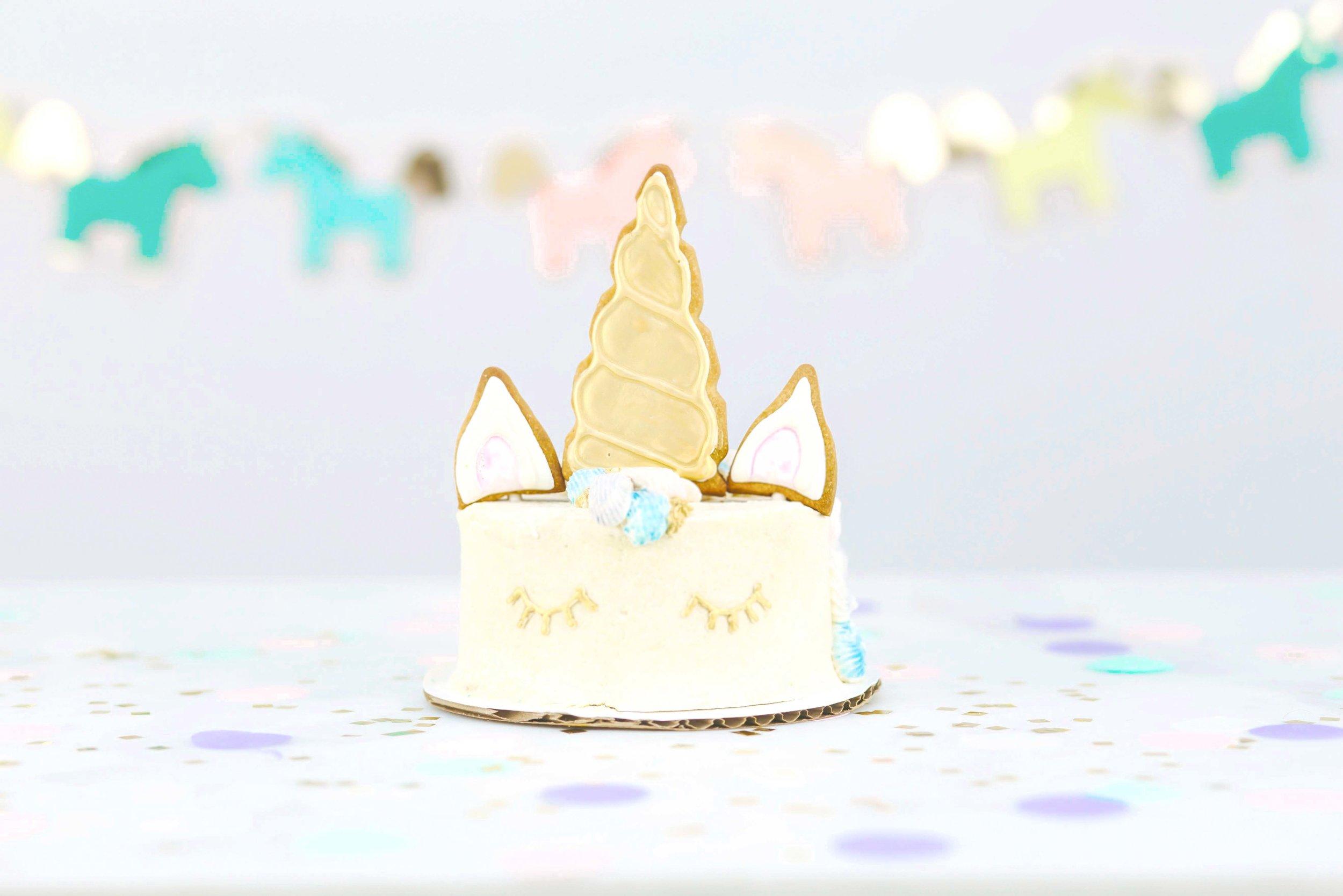 Dave's unicorn birthday cake