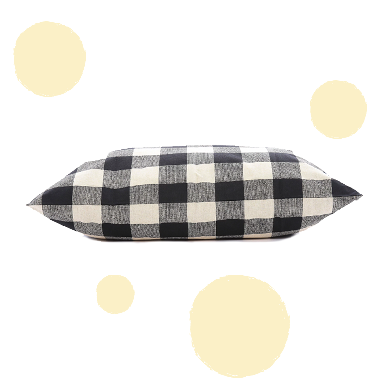 The Foggy Dog Buffalo Check Dog Bed Cover