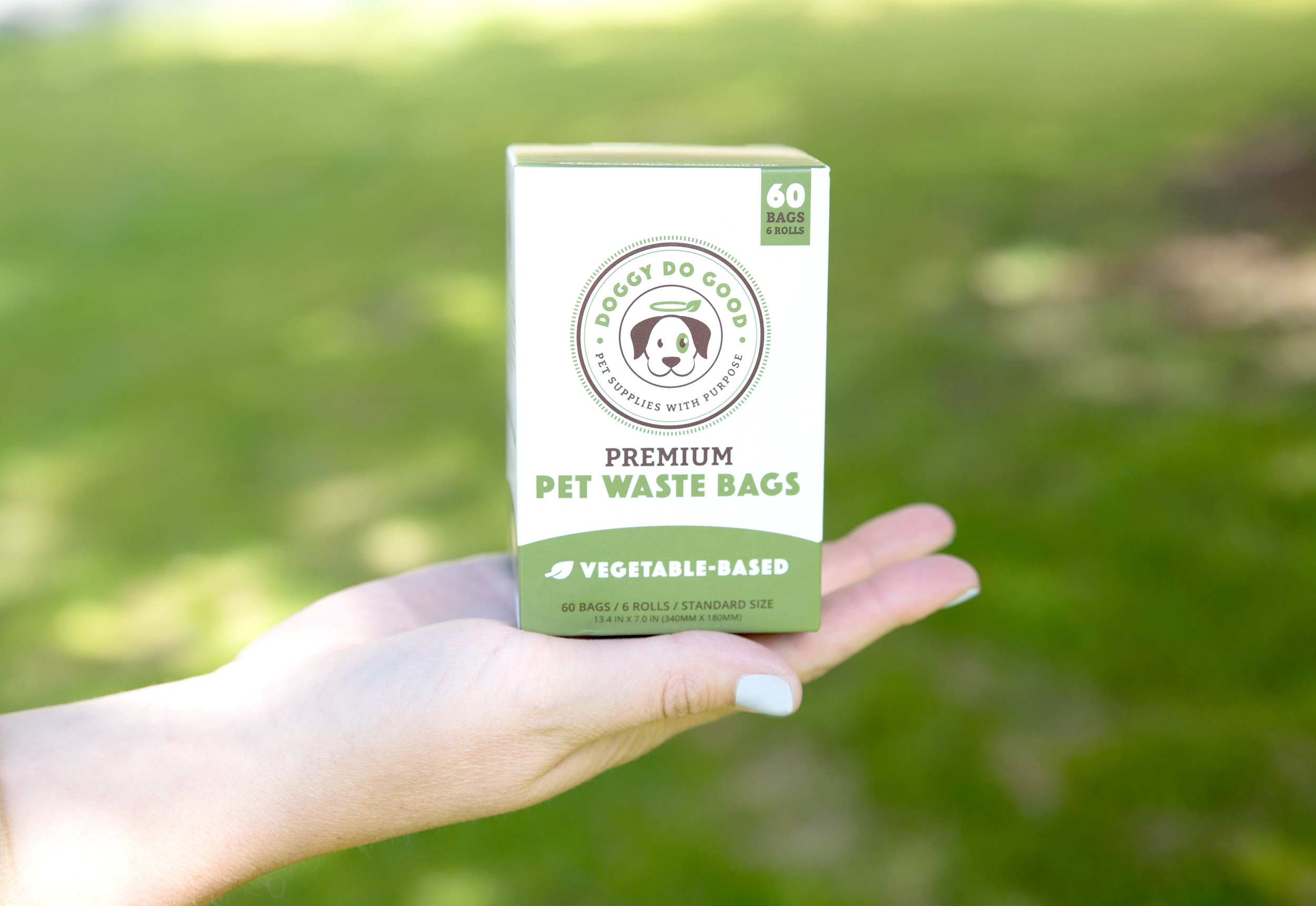 Doggy Do Good All Natural and Eco-Friendly Dog Poop Bags and Wipes on The Dapple Dog Lifestyle Site