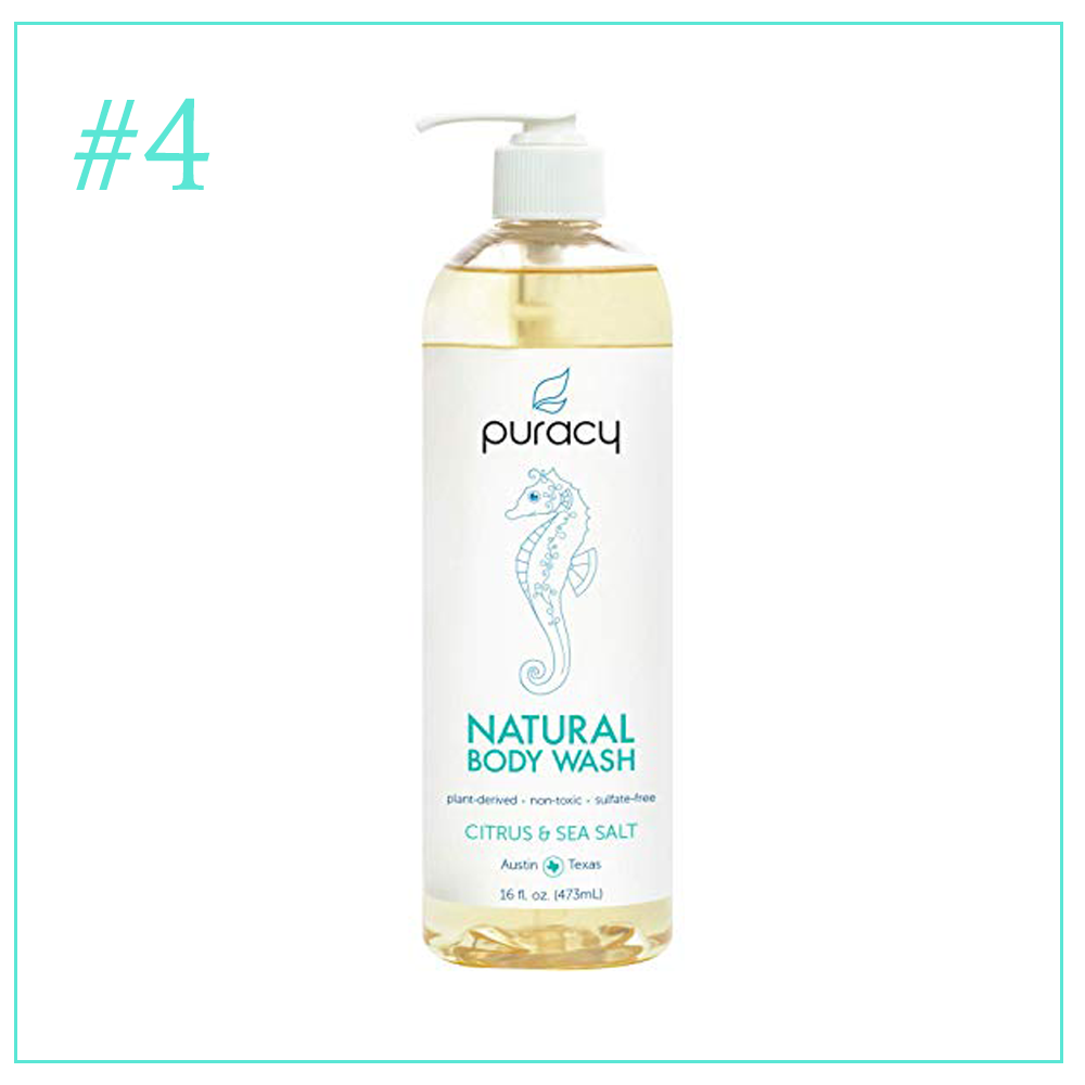 Puracy Natural Body Wash: Clean and Cruelty Free Skincare Products I'm Loving During Pregnancy