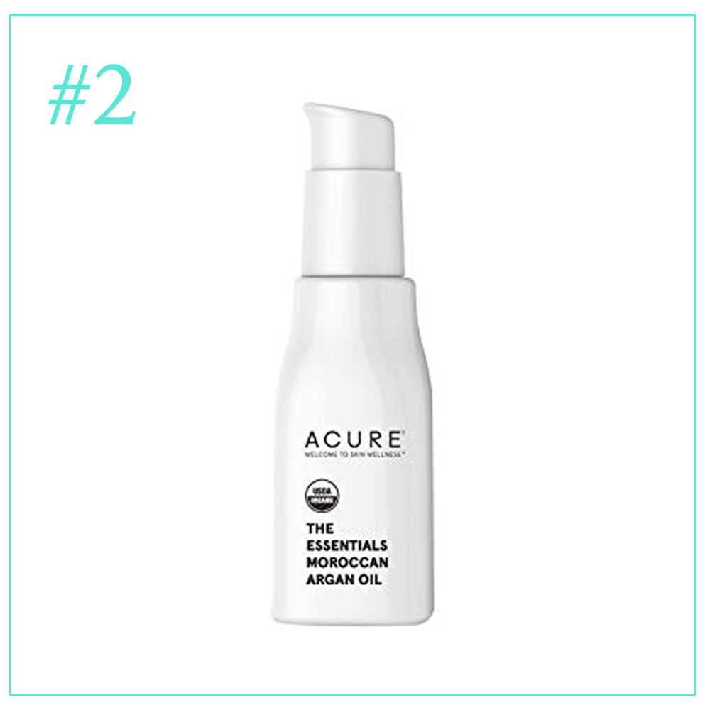 Acure The Essentials Moroccan Argan Oil:Clean and Cruelty Free Skincare Products I'm Loving During Pregnancy