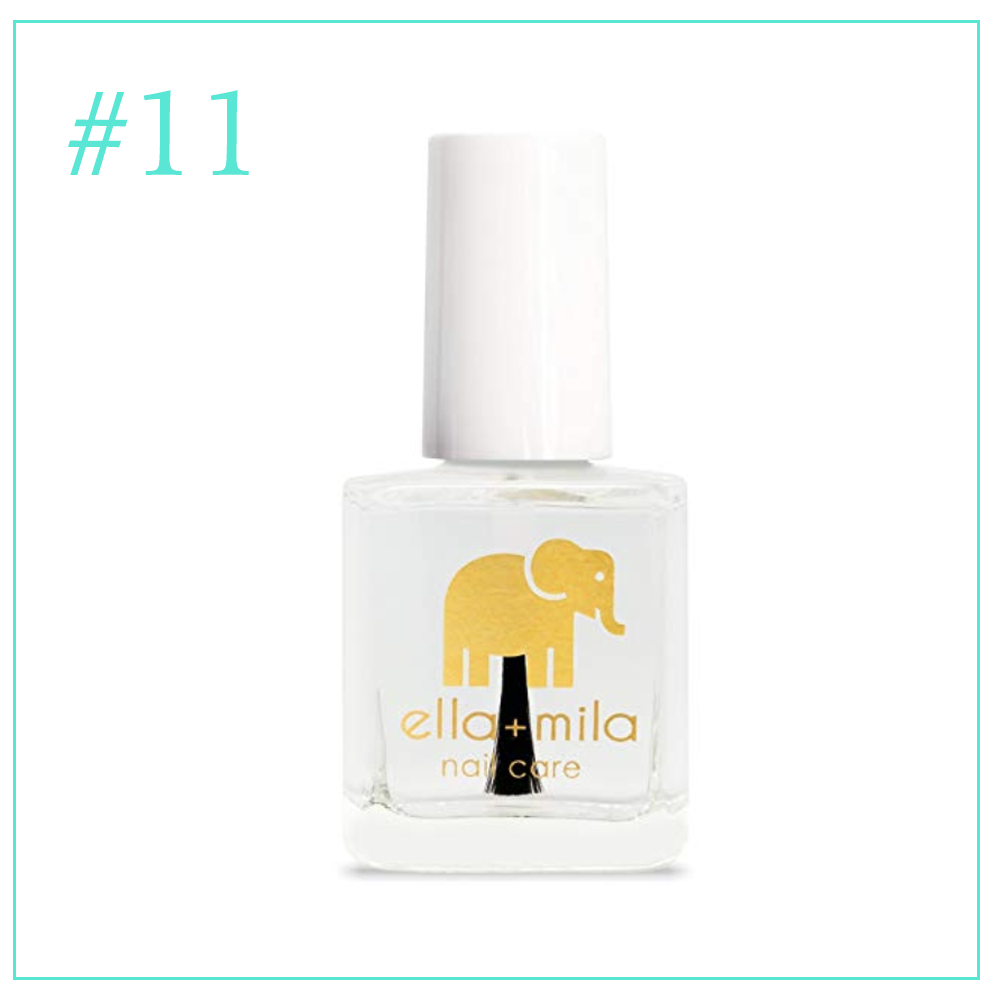 Ella & Mila Dry Top Coat Nail Polish: Clean and Cruelty Free Makeup I'm Loving During Pregnancy