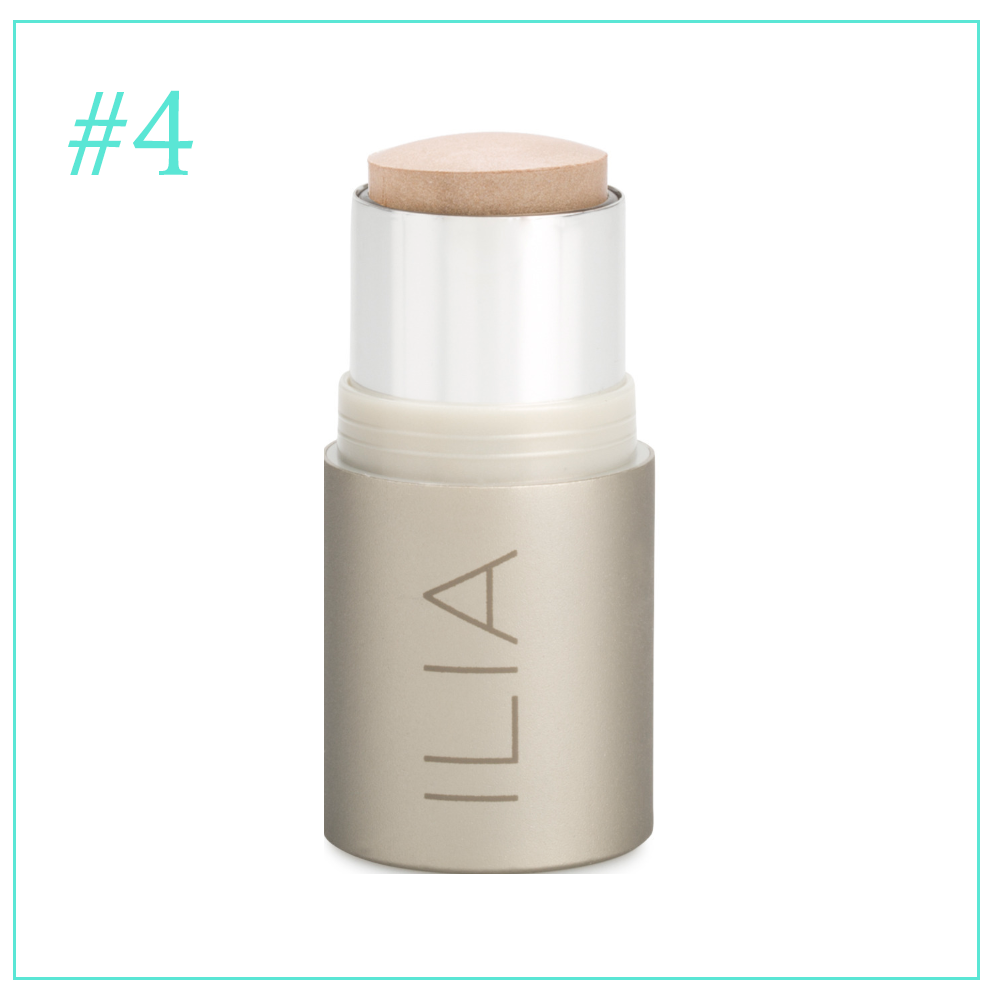 Ilia Highlighter in Cosmic Dancer: Clean and Cruelty Free Makeup I'm Loving During Pregnancy