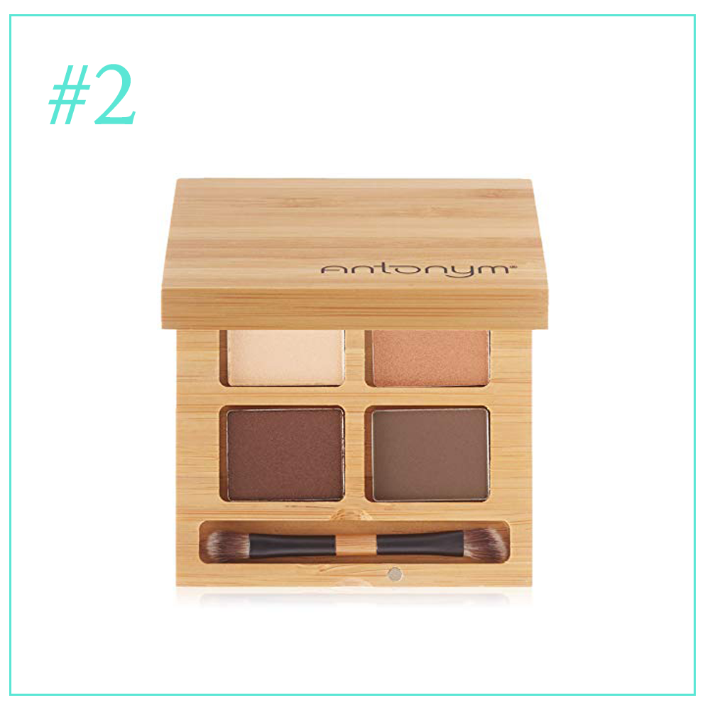 Antonym Eye Shadow in Noisette: Clean and Cruelty Free Makeup I'm Loving During Pregnancy