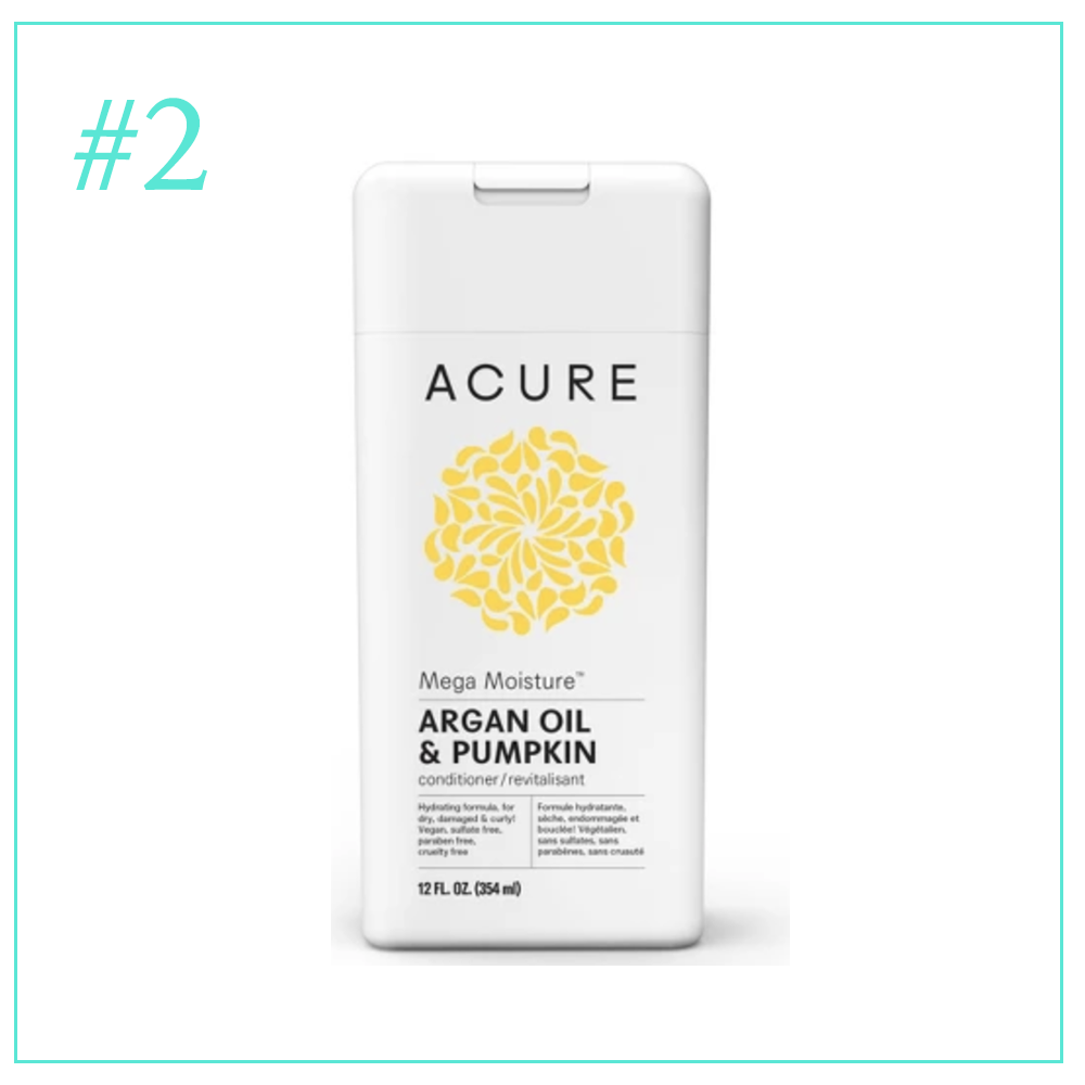 Acure Mega Moisture Argan Oil and Pumpkin: Clean and Cruelty Free Hair Care I'm Loving During Pregnancy