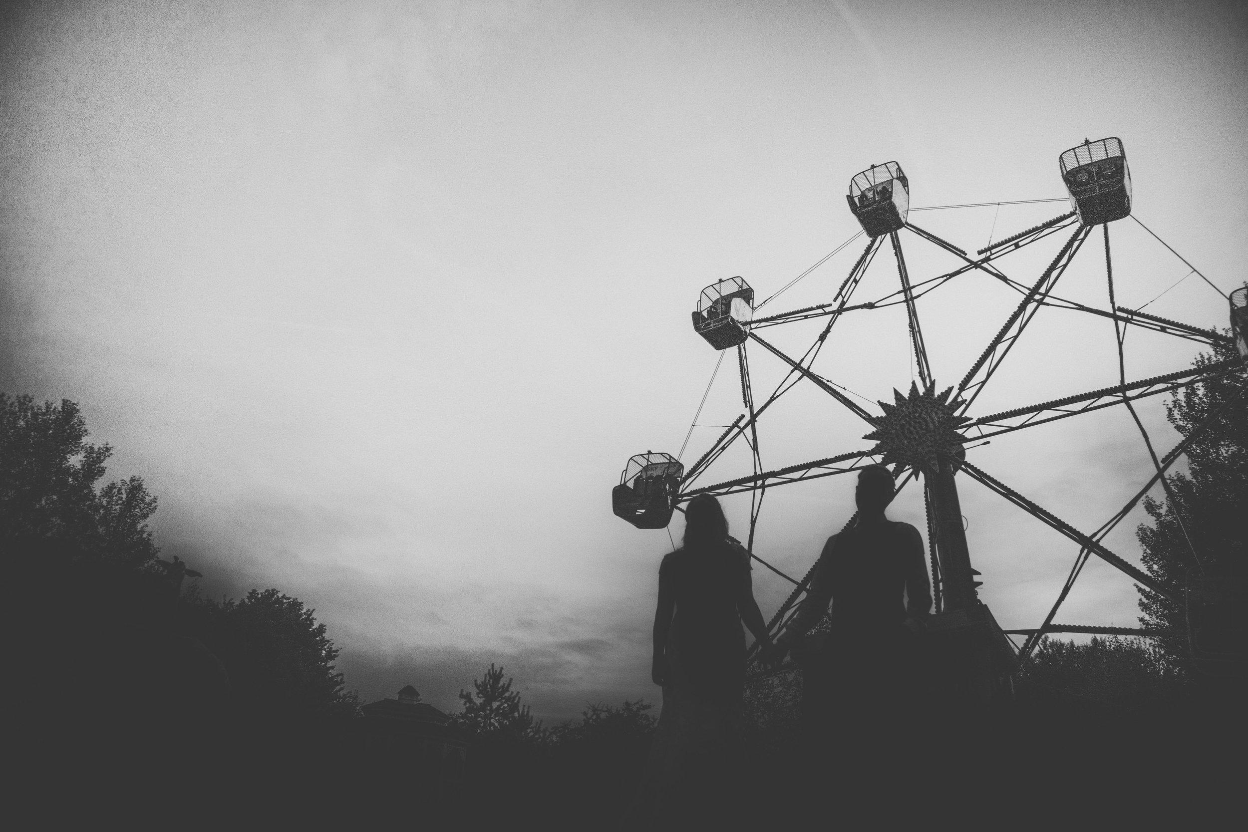 Fairground at Marleybrooks