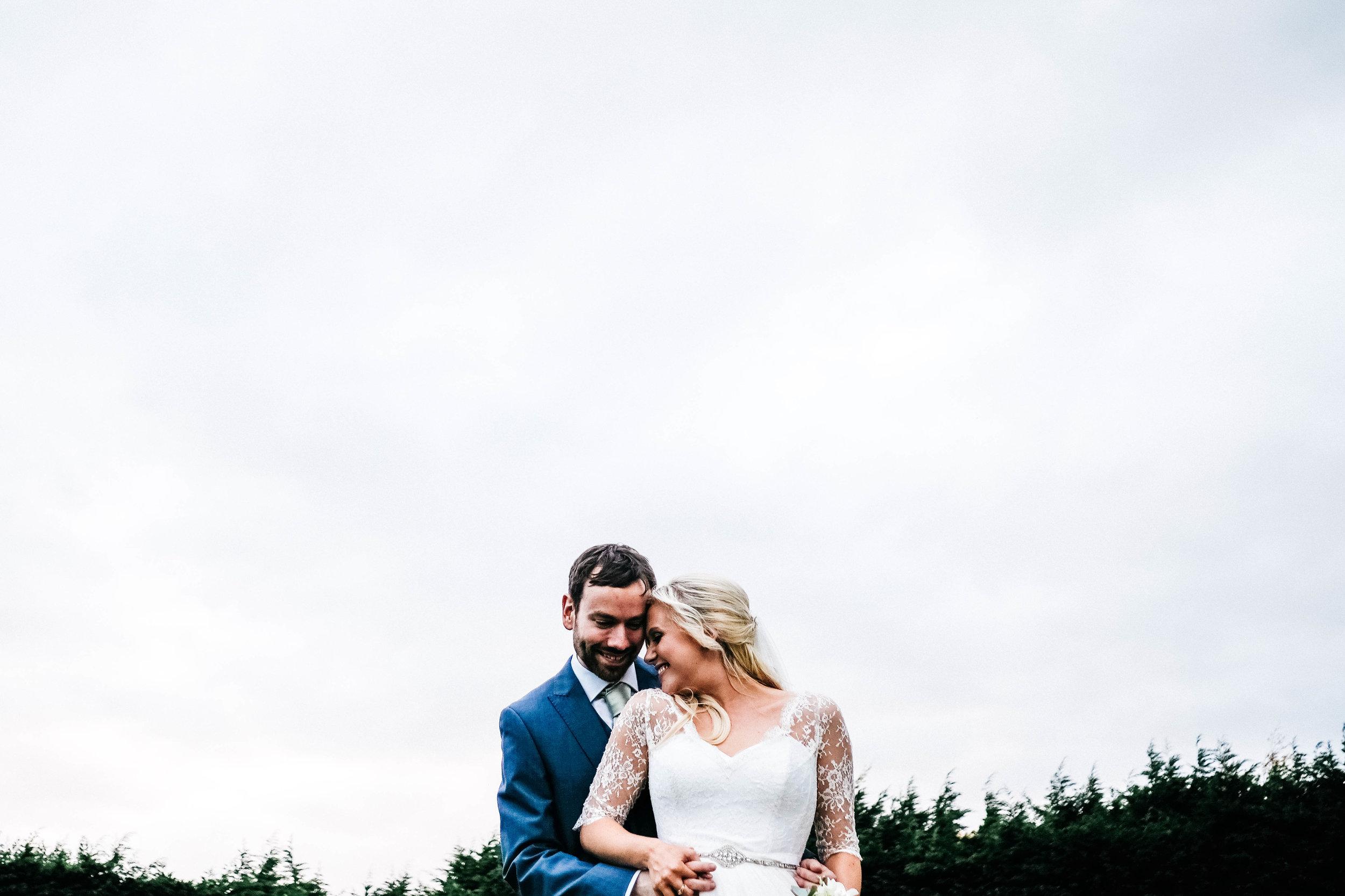 Winters Barns Wedding Hugs
