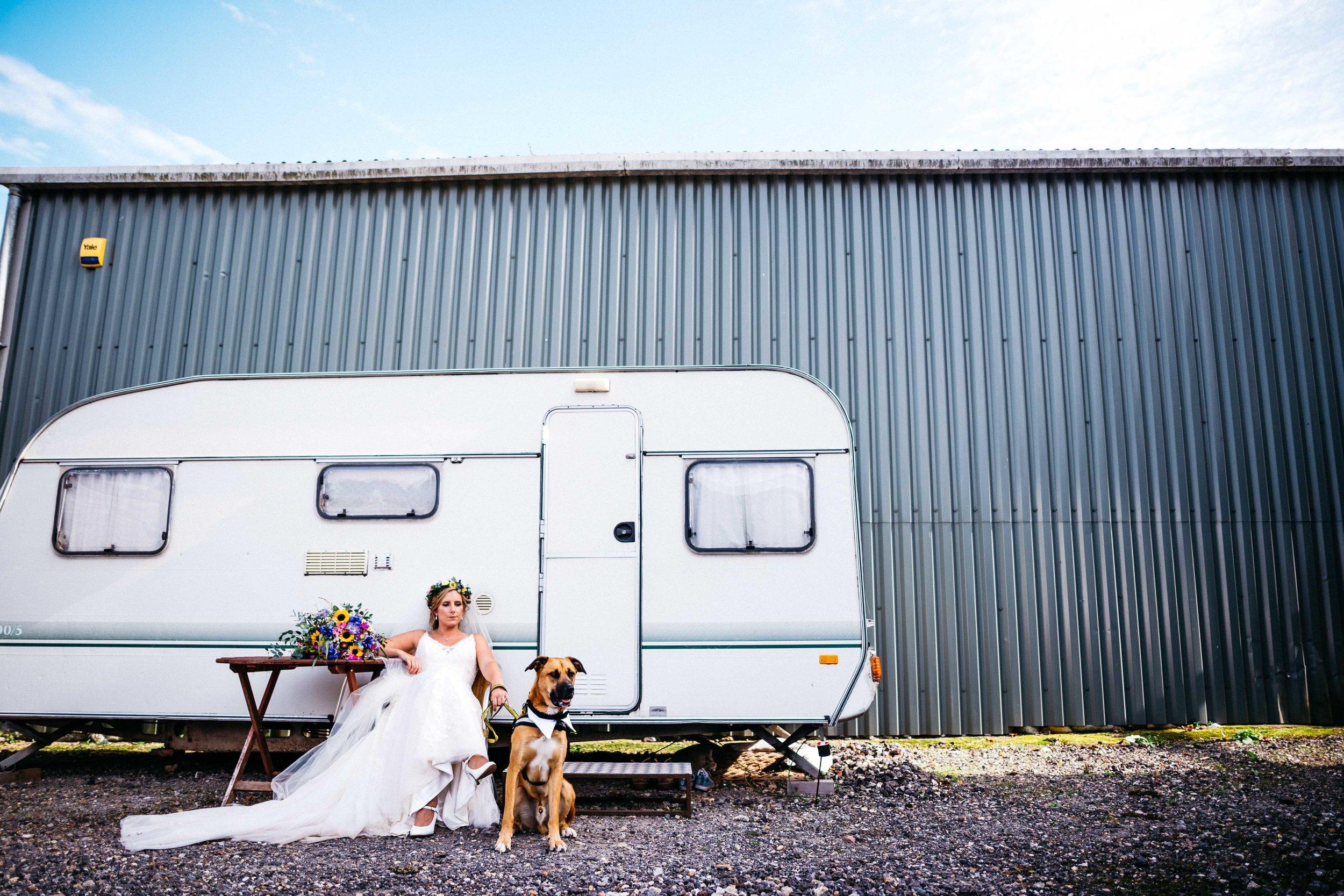 Trailer park bride