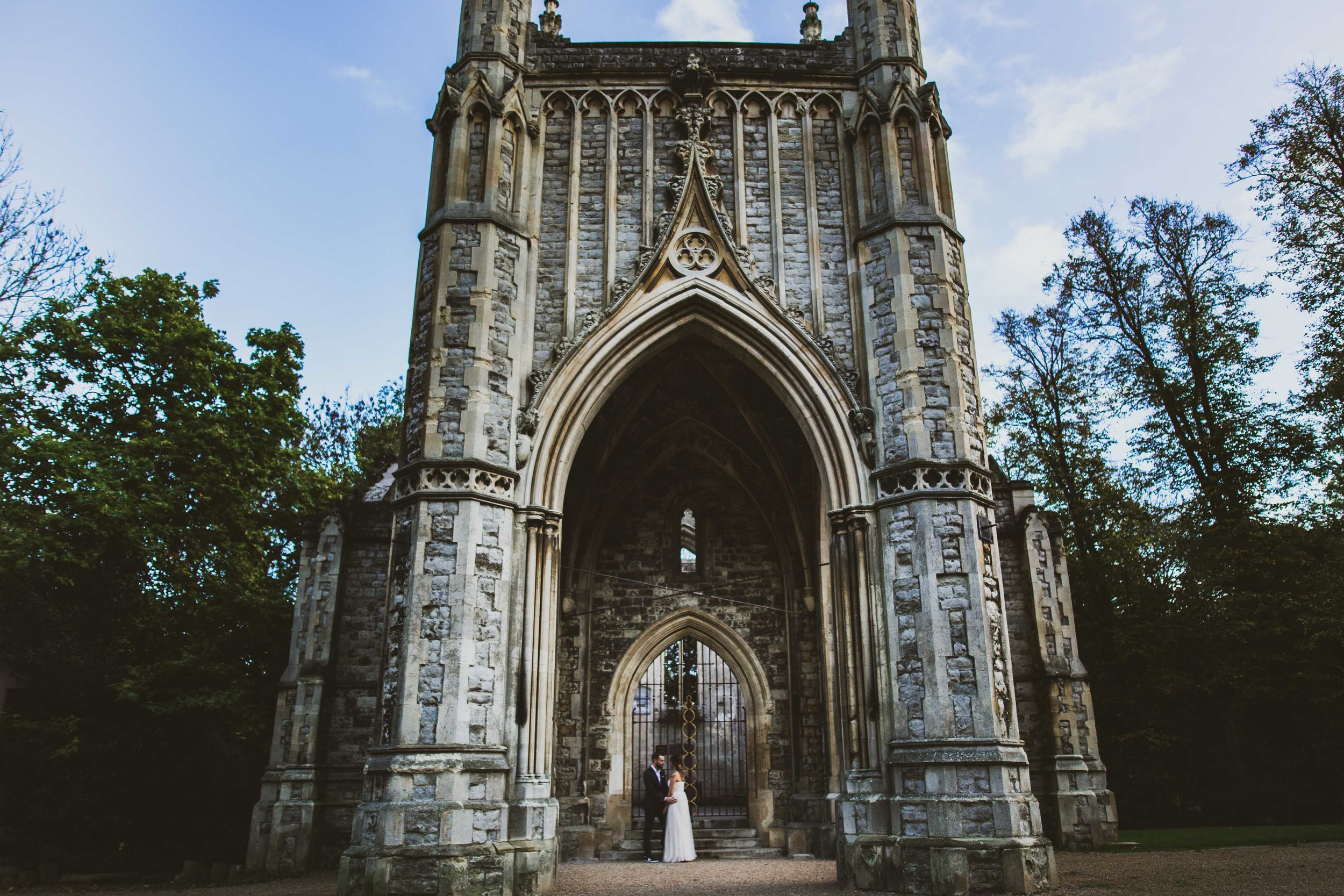 Nunshead cemetery wedding