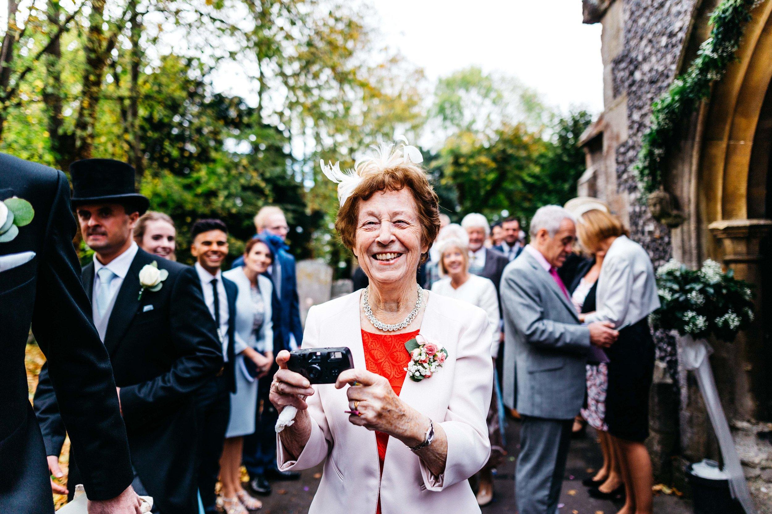 Aunty and her camera