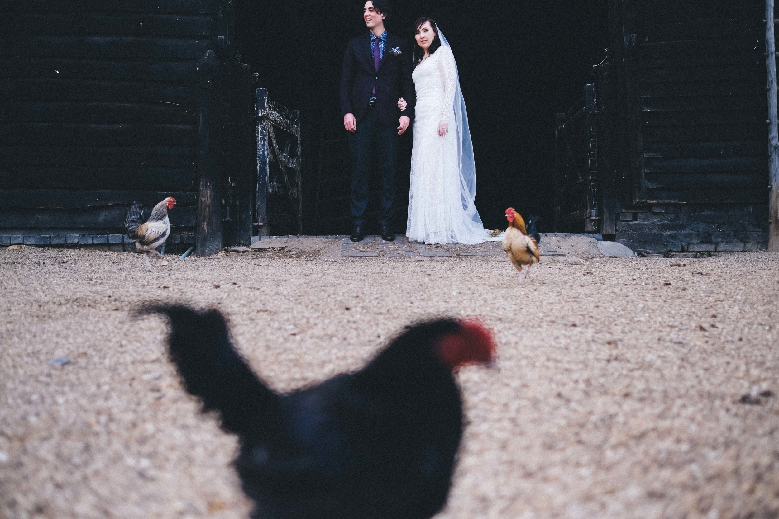 South farm wedding