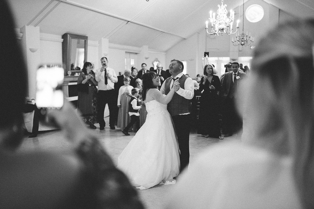 First dance at Quex Park Wedding