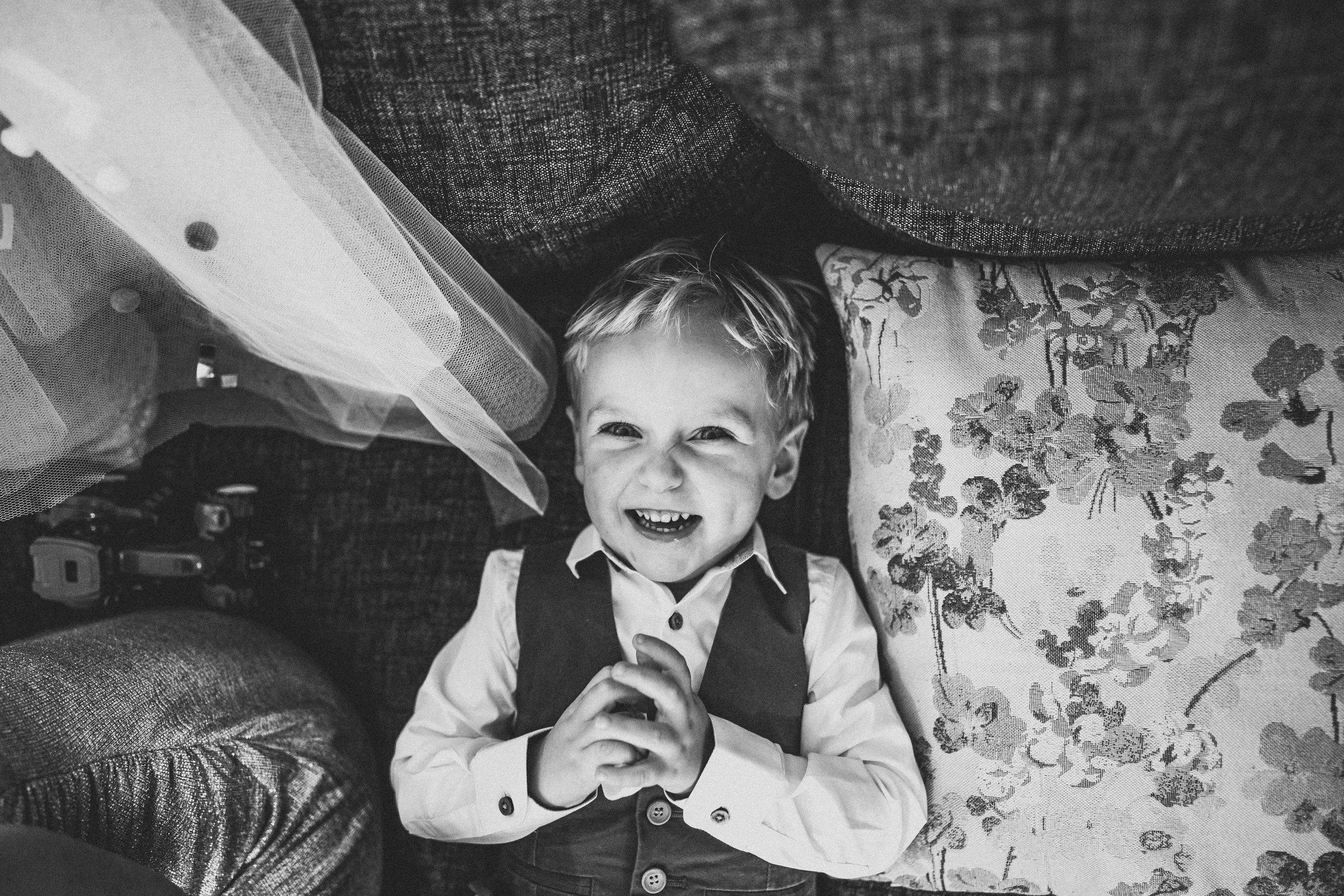 Happy pageboy