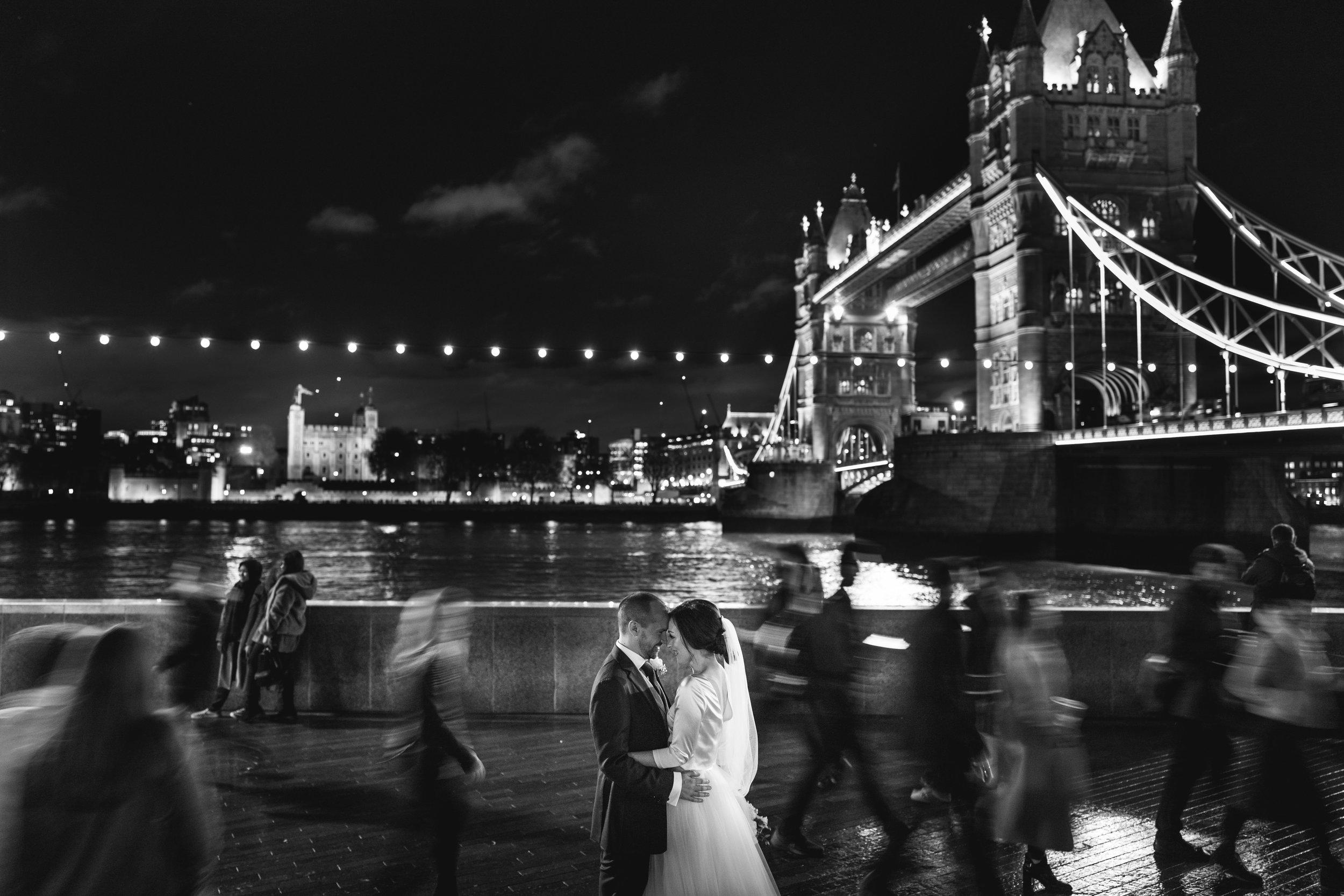 Tower Bridge Wedding Photo