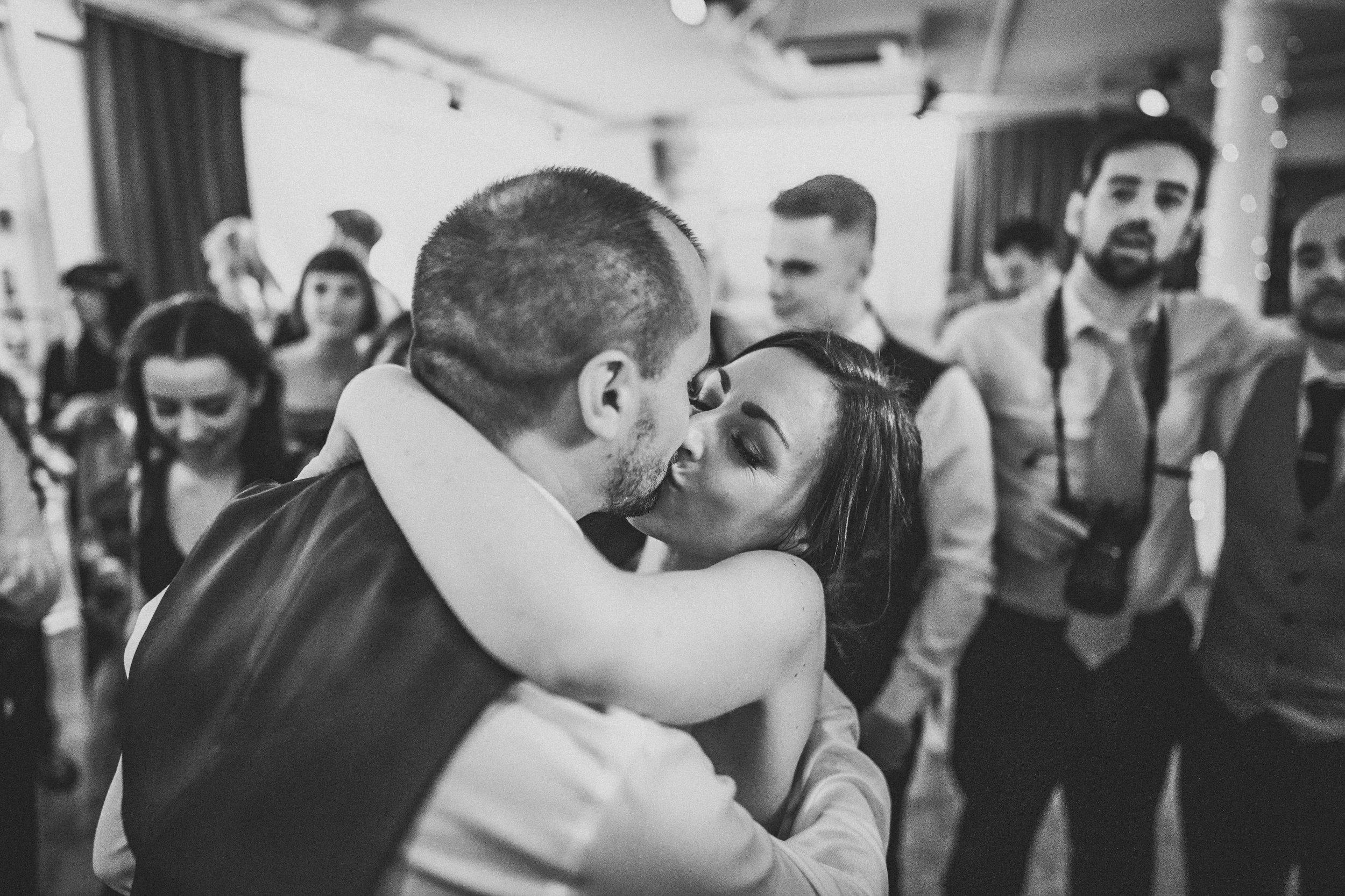 Bride and groom dancefloor