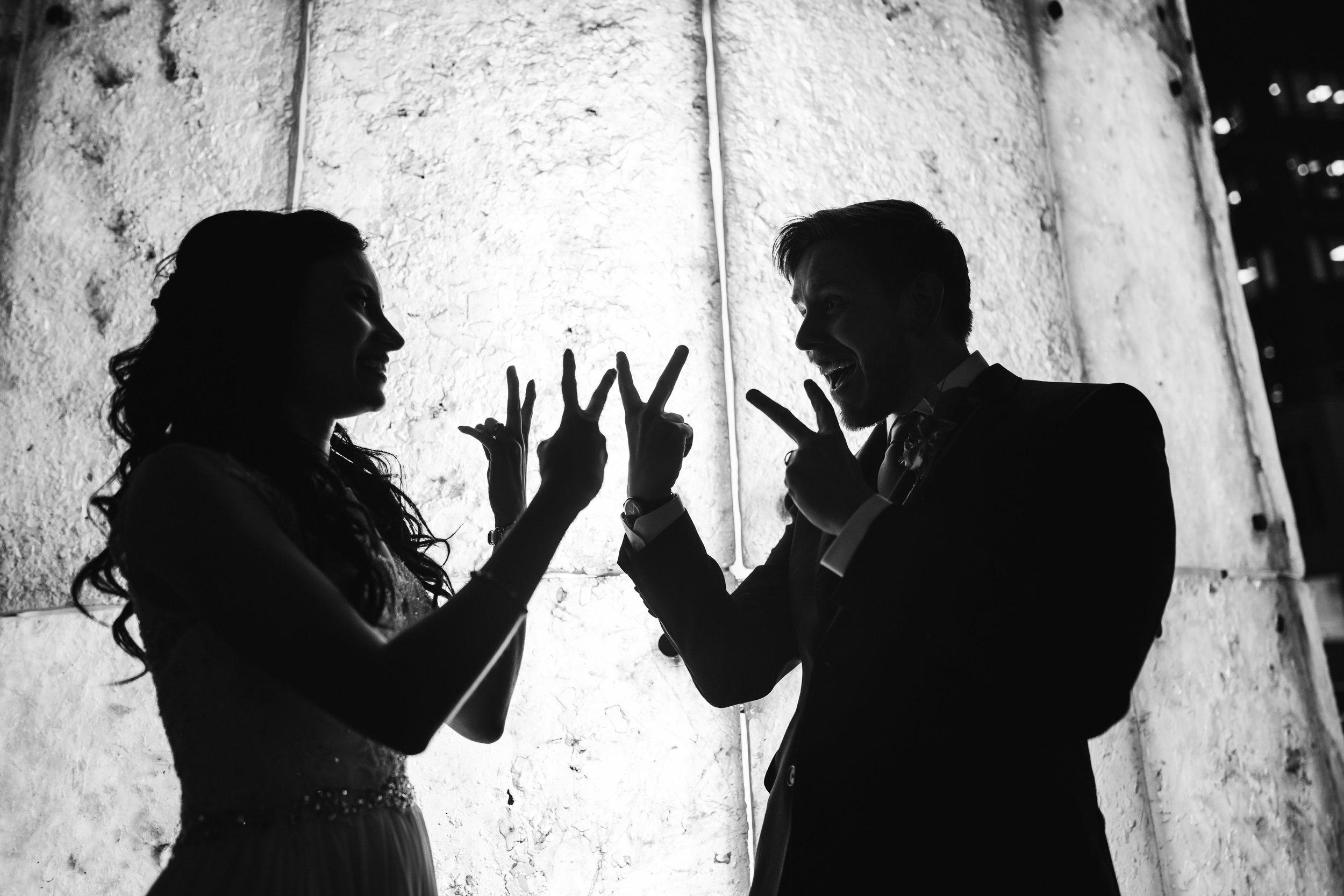 Bride and Groom Bants