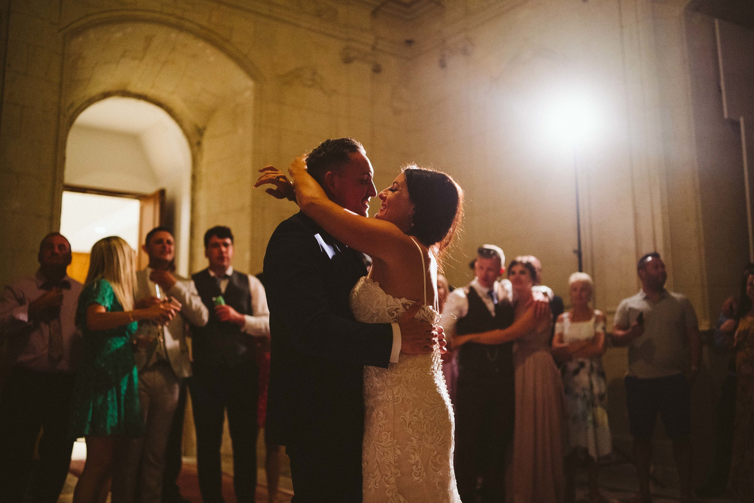 First dance at Chaeau de Jalesnes