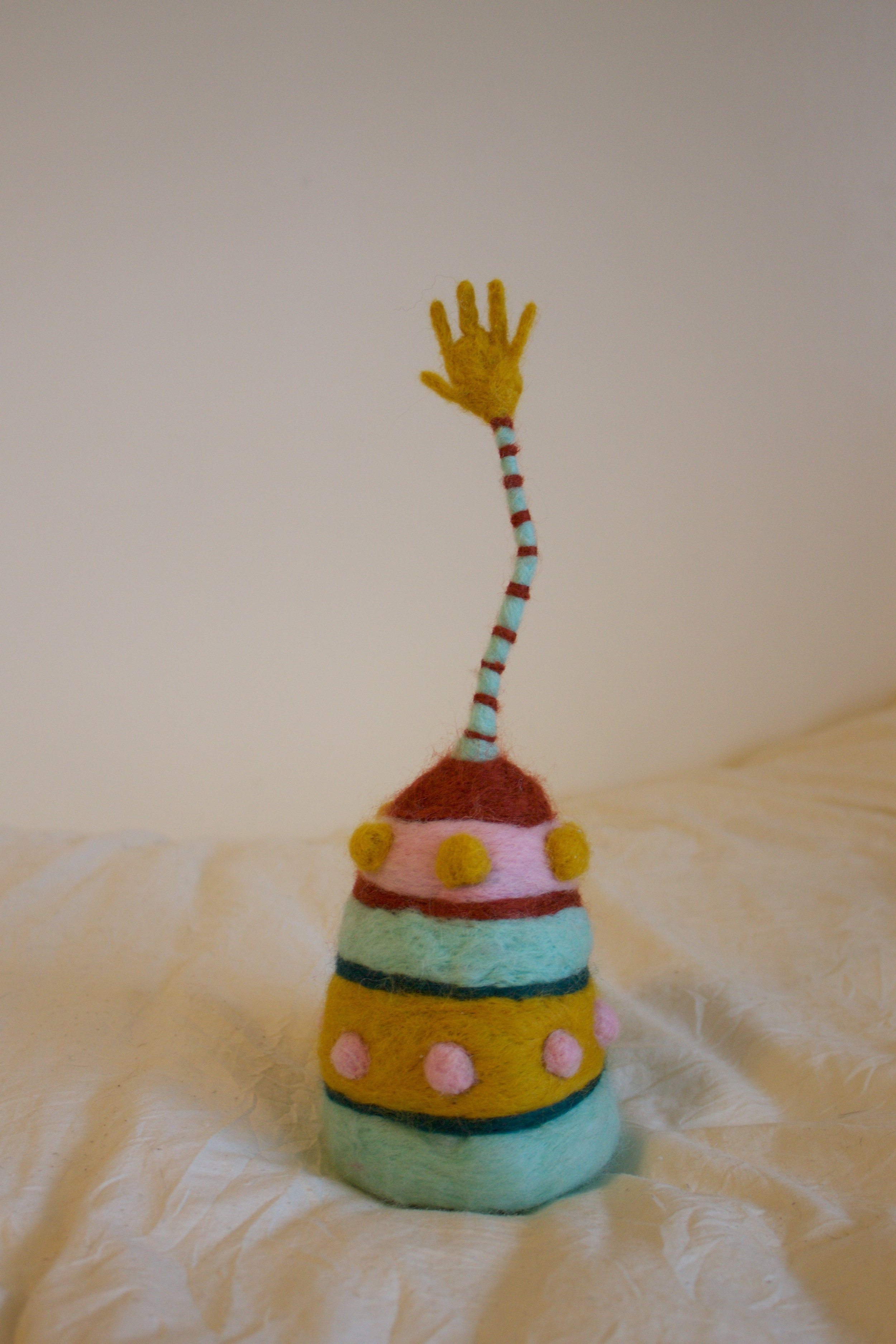'Manifestation (I Want It!)' - 13 inches tall and 5 inches wide$100