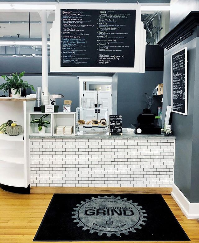 I haven't made it to @thegreenfieldgrind yet, and for that I am truly regretful. My highest priority this week! — So many shops are popping up on the outskirts of Indy, and for that I am most thankful. — 📸: @thegreenfieldgrind