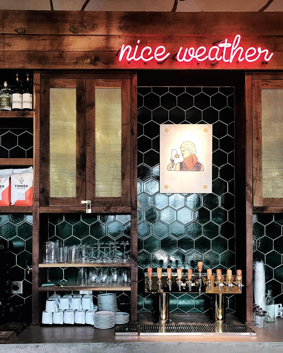 It's always 'nice weather' inside Provider.