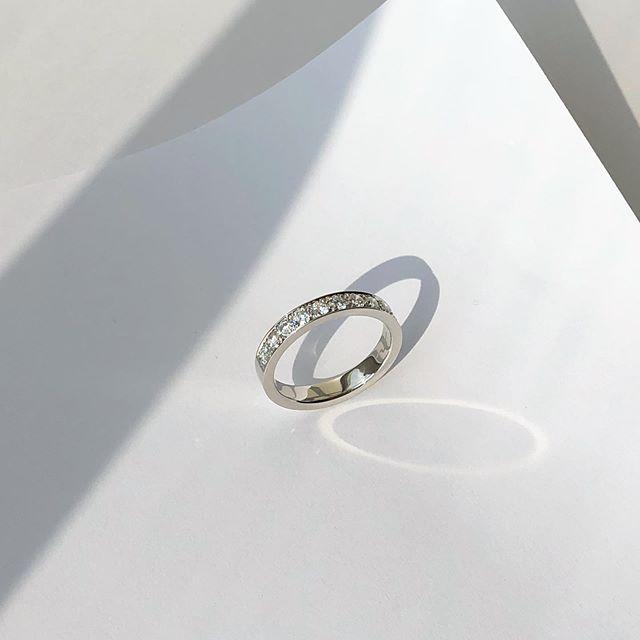 """Brad""  #jewelrydesign  #madetoorder  #platinumring  #diamond"