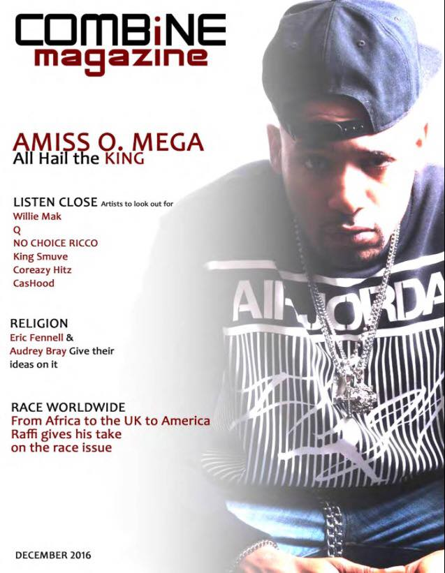 Amiss O.mega Cover Artist On Combine Magazine! Get Ur Copy Today!  http://www.magcloud.com/browse/issue/1206571?__r=679591