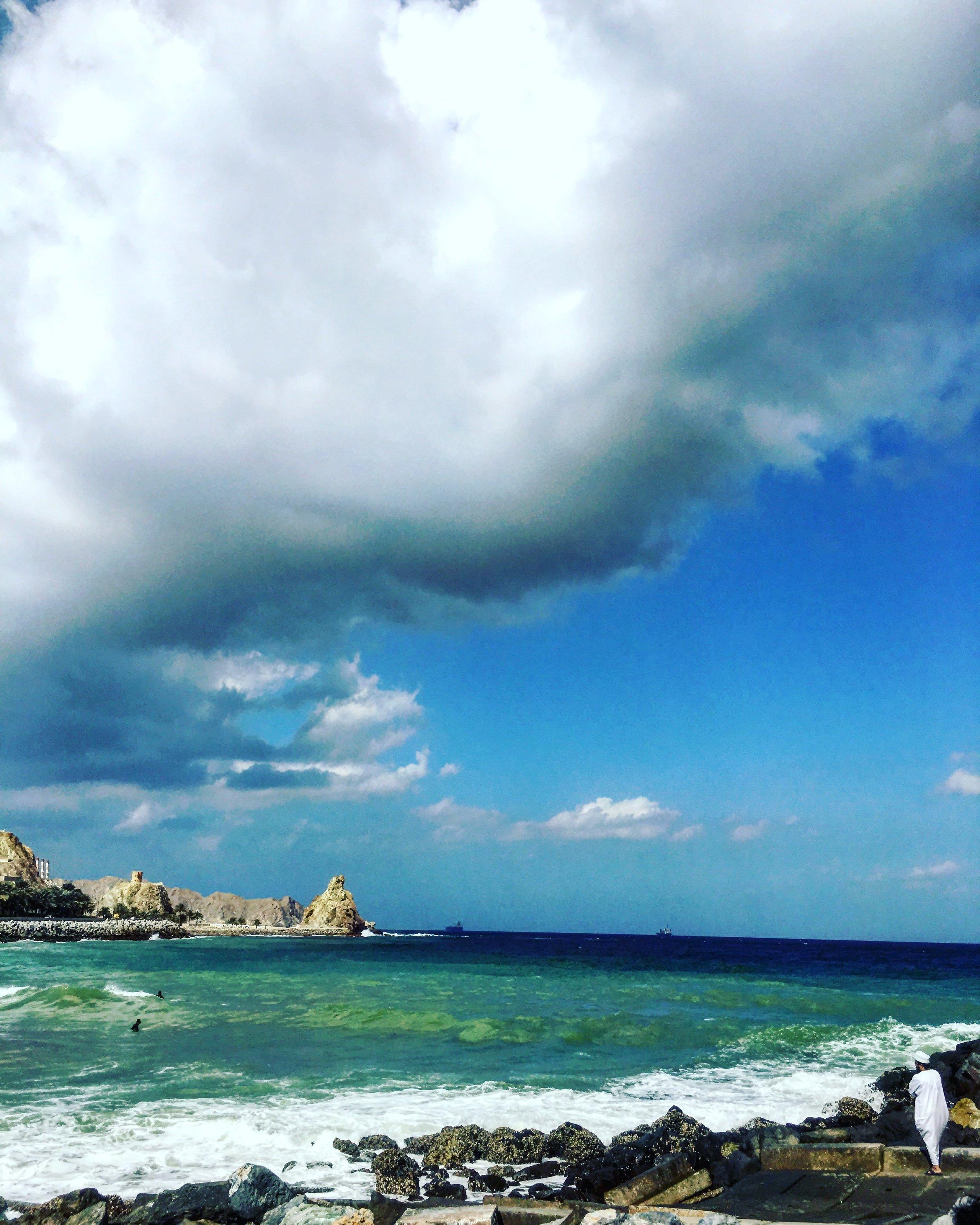Mutrah, Oman, by Priyanka Sacheti.