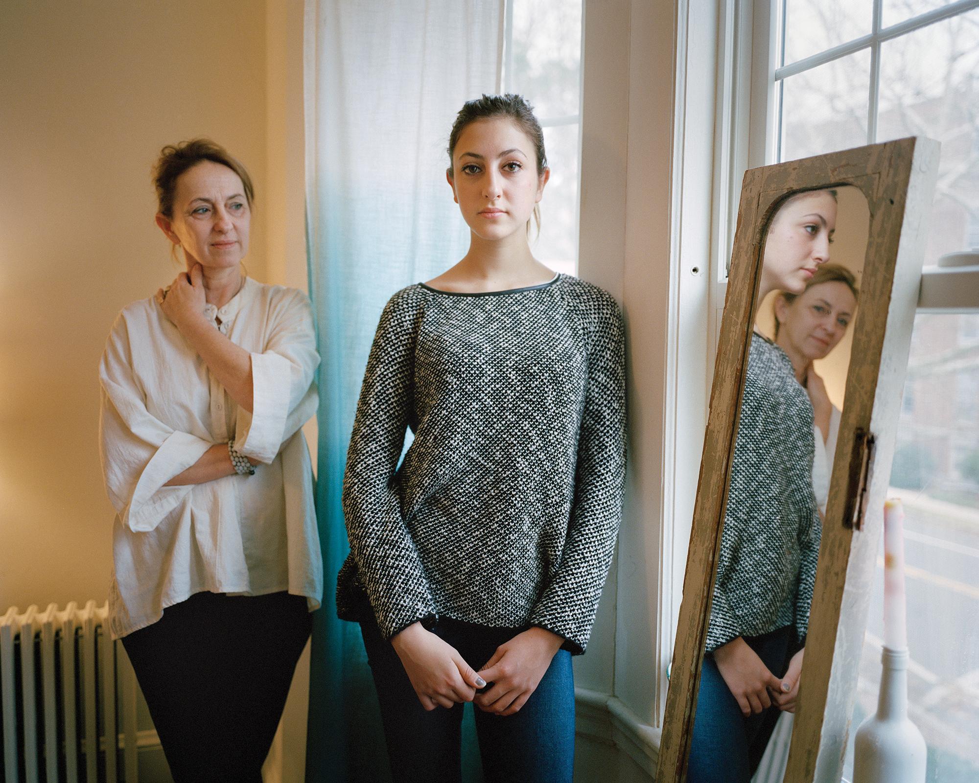 Benedicte and Laeticia , Cambridge Massachusetts, 2014