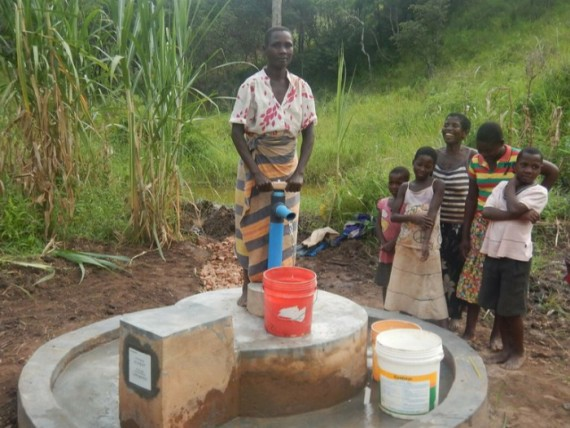 Malawi clean water project