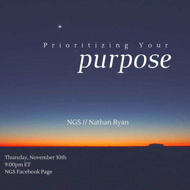 Prioritizing Your Purpose in Business  with Nathan Ryan