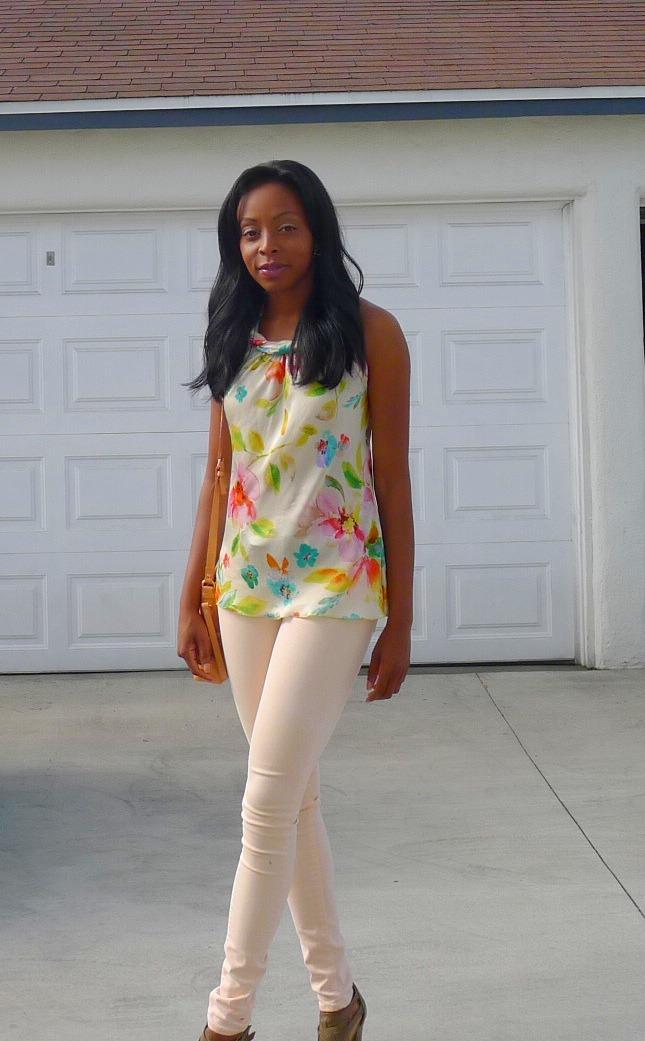 styling peach pants