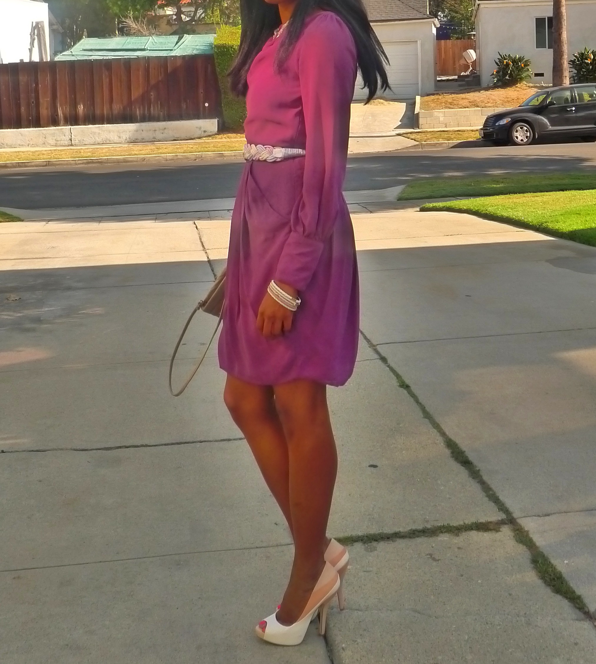 primark purple dress