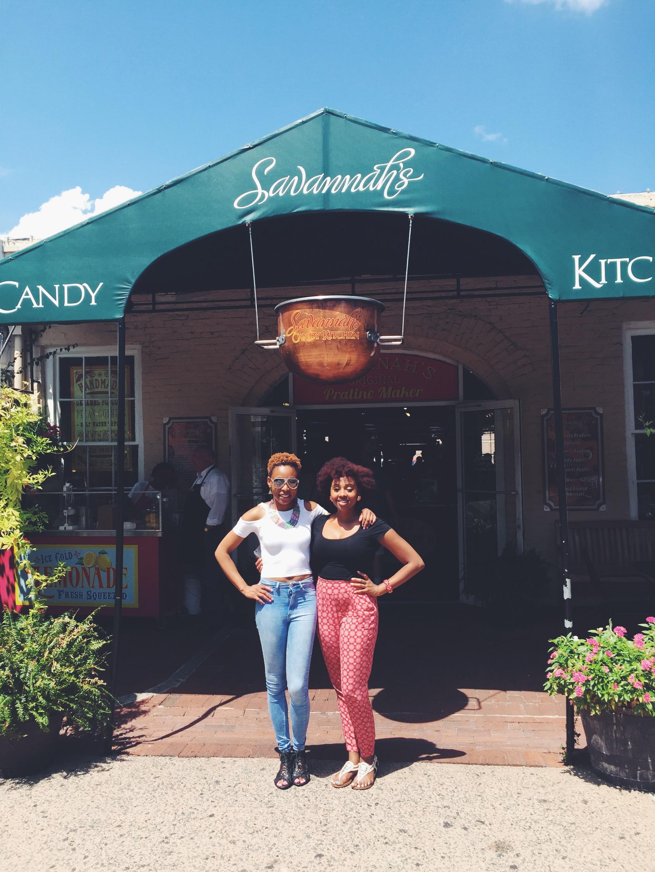 Savannah GA, Candy Shop