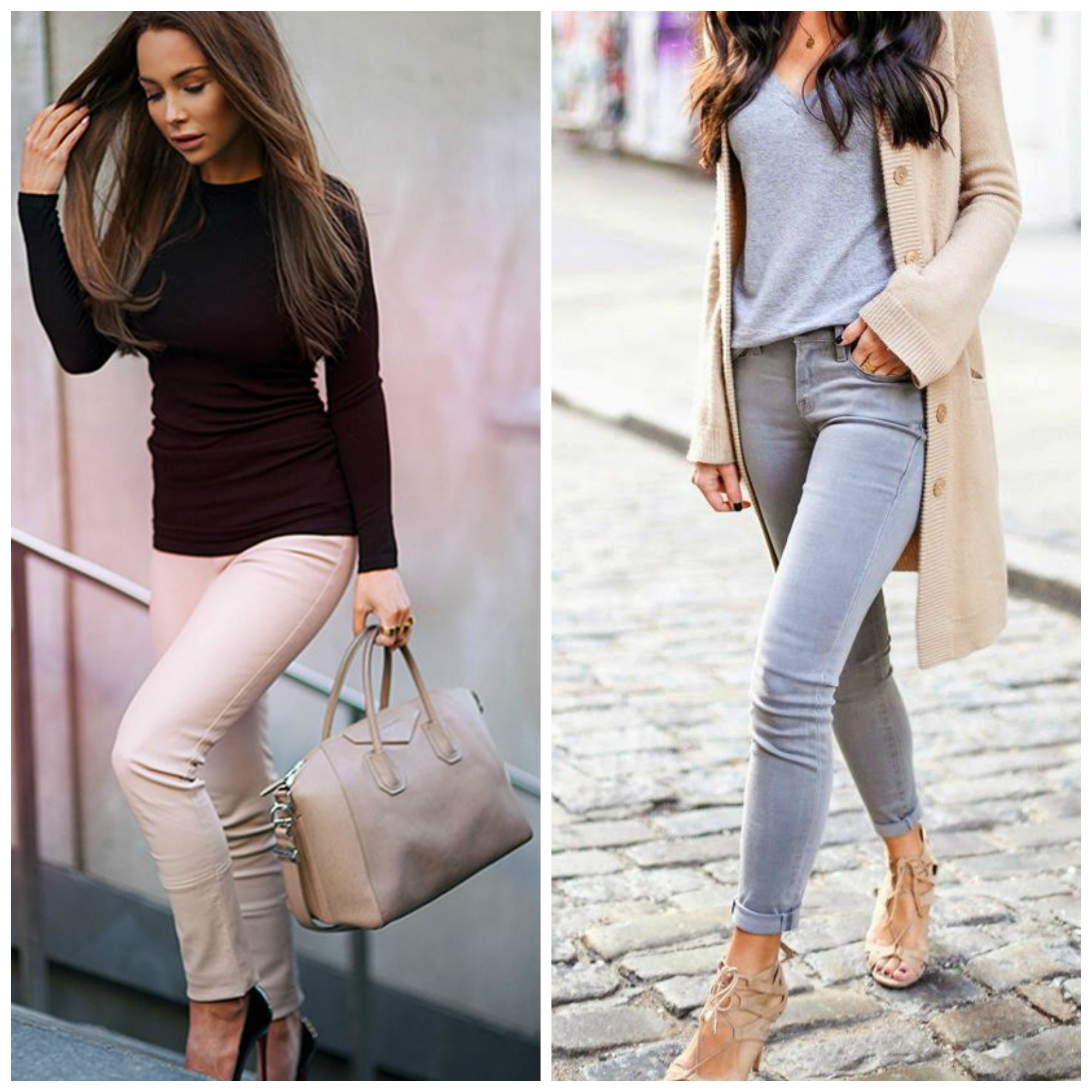 curating a neutral wardrobe