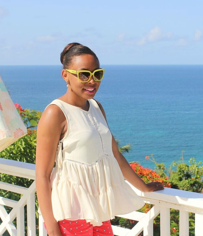 Mini photo shoot at Villa Marabella. Check out some of my vacation outfits by watching  this video  on my Youtube channel.