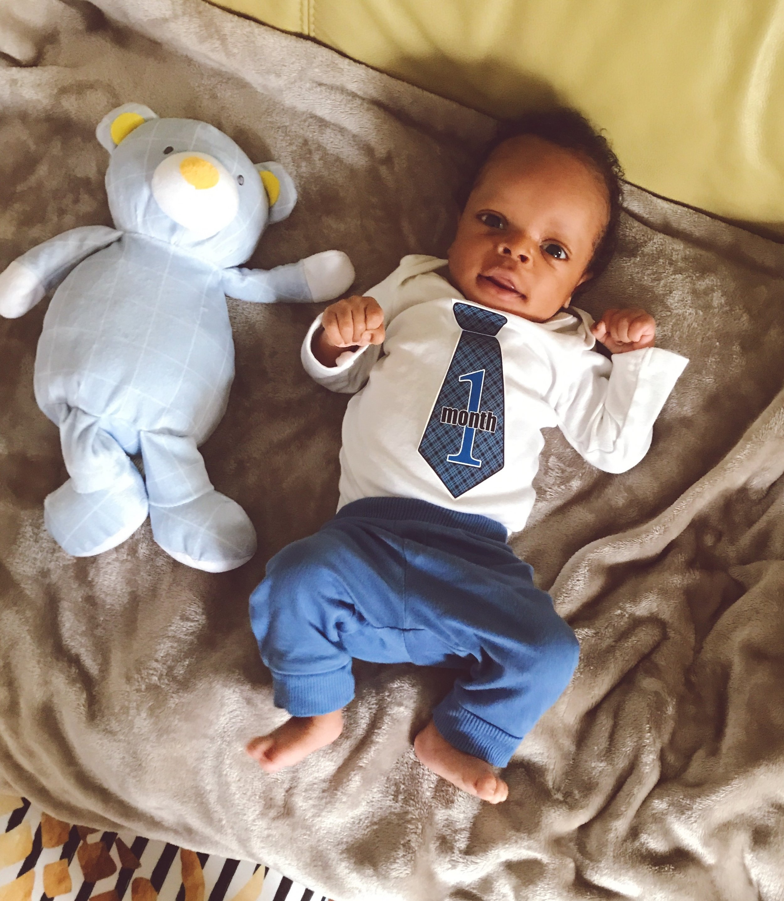 RJ at one month old.