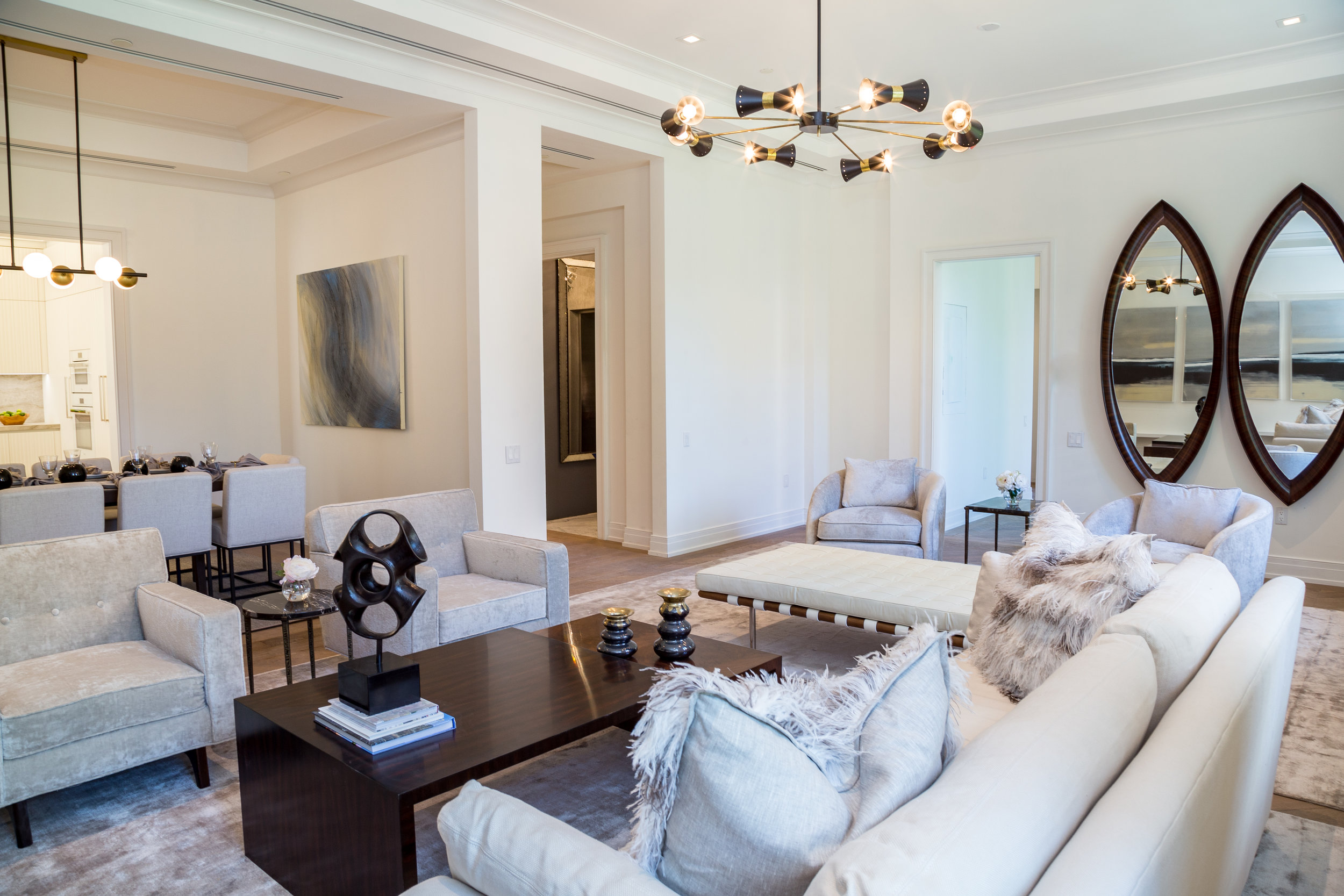 NYC PARK MANSION STAGING
