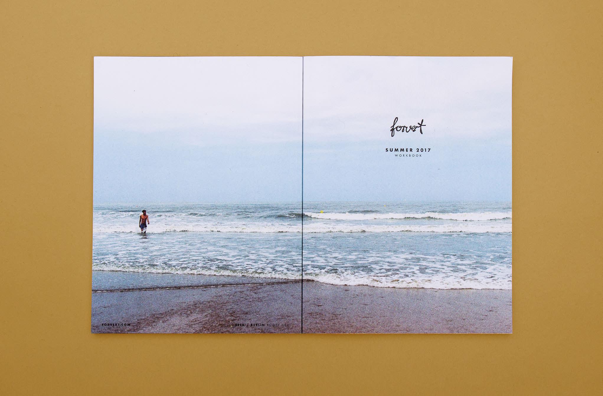 Editorial Design für forvert aus Köln von den sons of ipanema, einer Corporate Design Agentur aus Köln