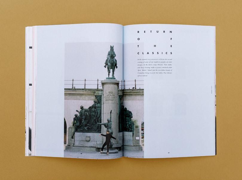 Editorial Design für forvert aus Köln