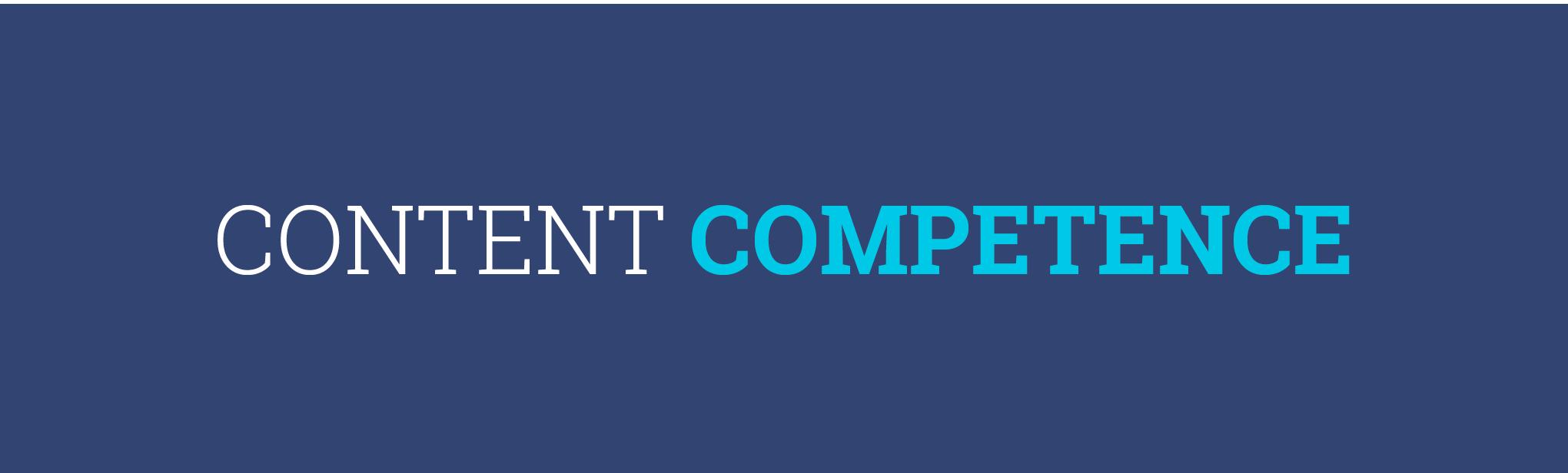Typografie Content Competence für additiv pr in Montabaur. Gestaltung von den sons of ipanema aus Köln.