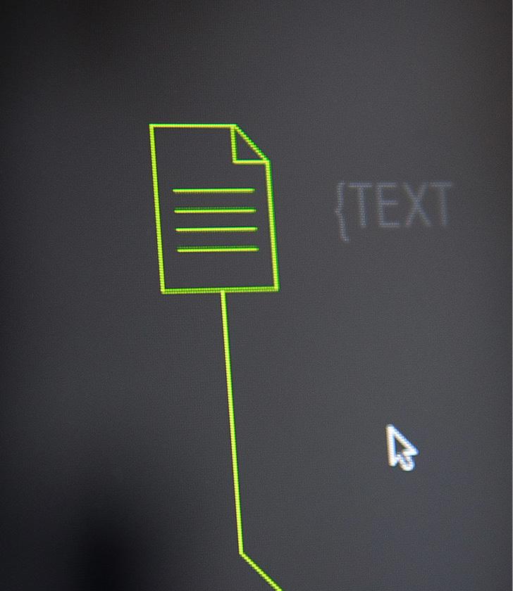 Icon Text im Online-Magazin Stellwerk von der Agentur für Kommunikationsdesign sons of ipanema in Köln.