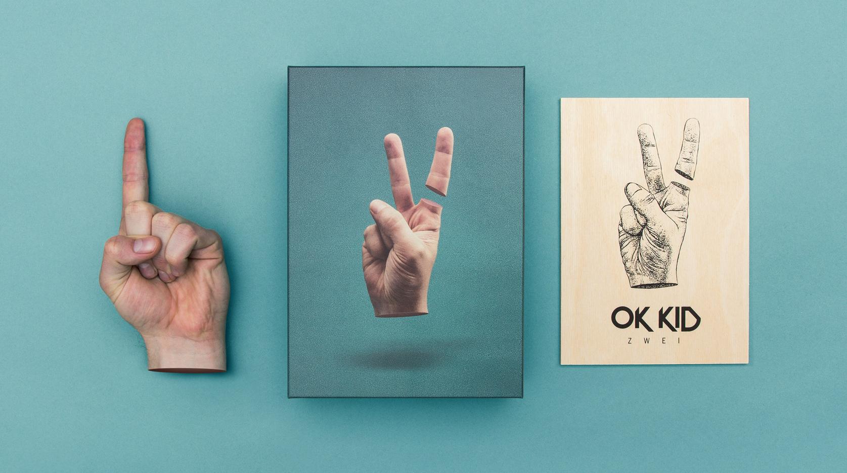 """Die Hip Hop Combo OK KID aus Köln haben ein neues Album, das den Namen """"Zwei"""" trägt. Das Artwork kommt von den sons of ipanema – ebenfalls aus Köln"""