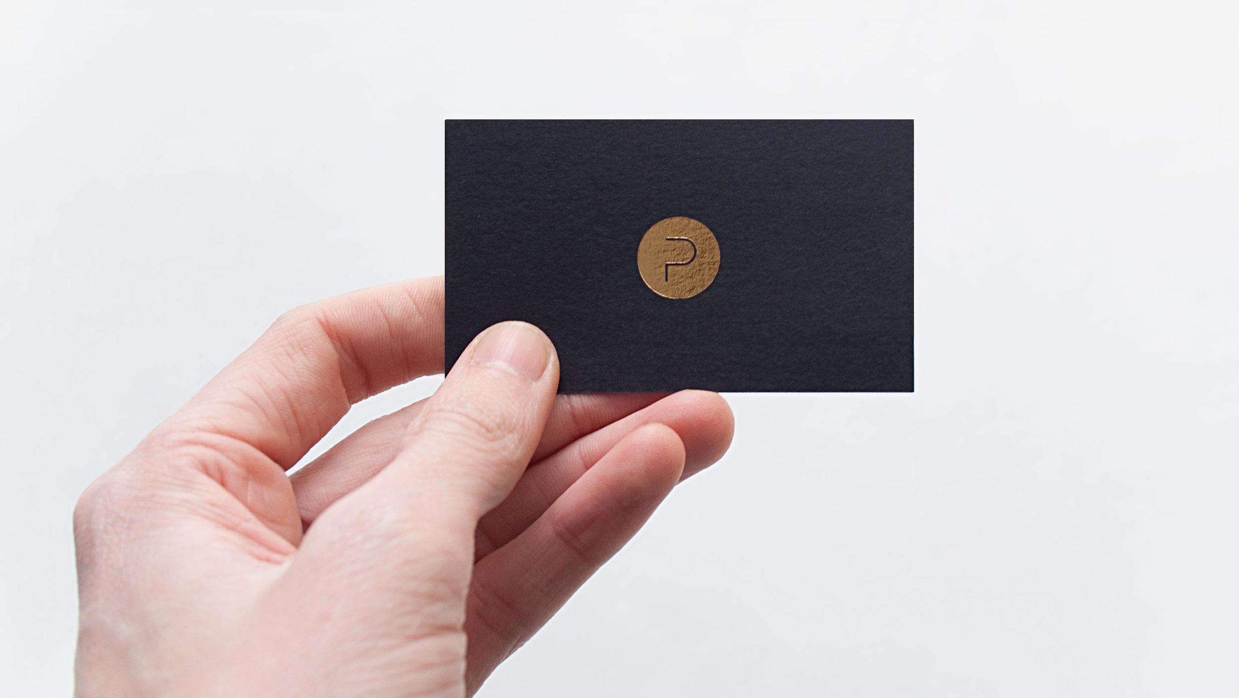 Corporate Design, Visitenkarte für Project, entworfen von den sons of ipanema, einer Grafik Design Agentur aus Köln.